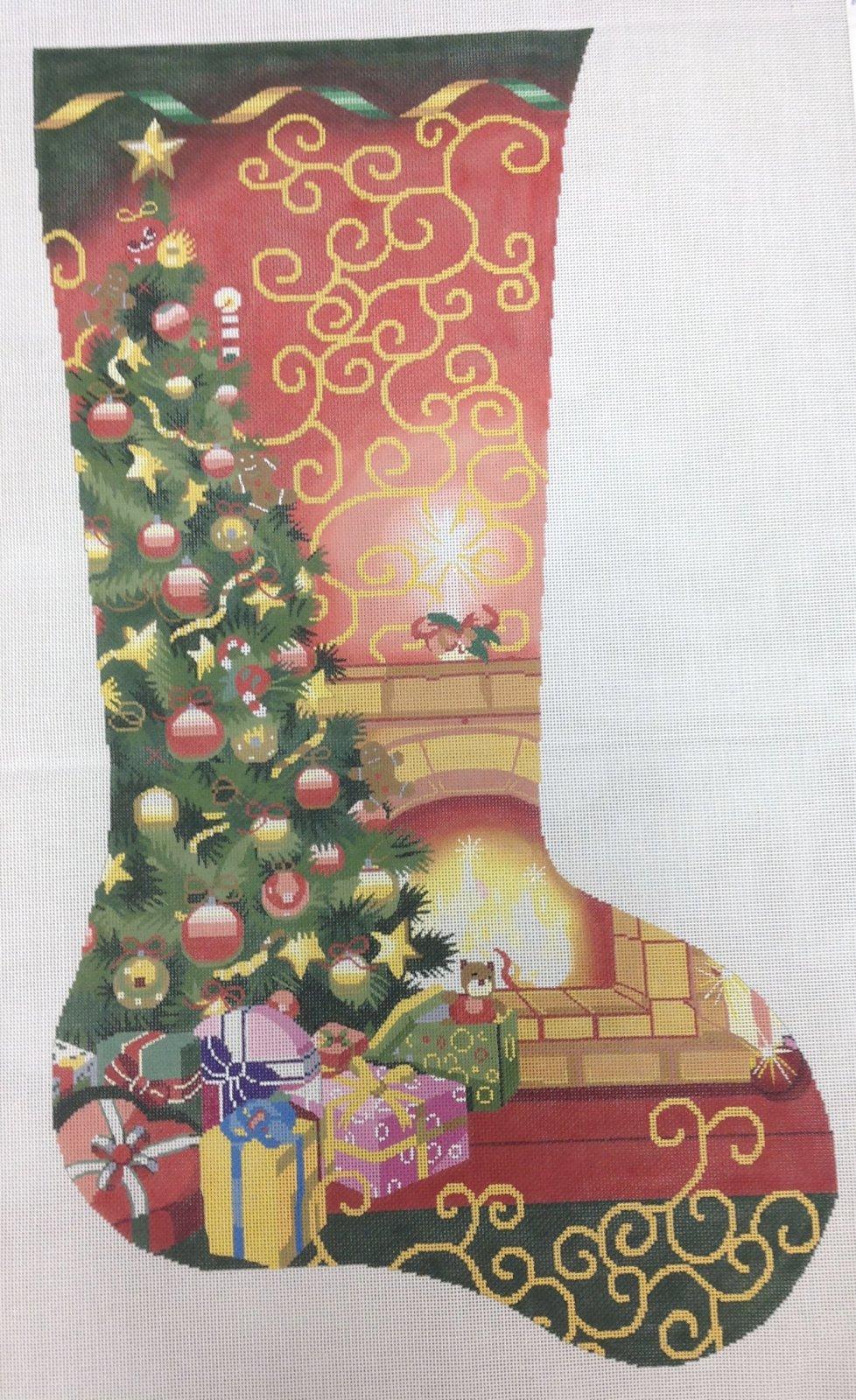 christmas room stocking