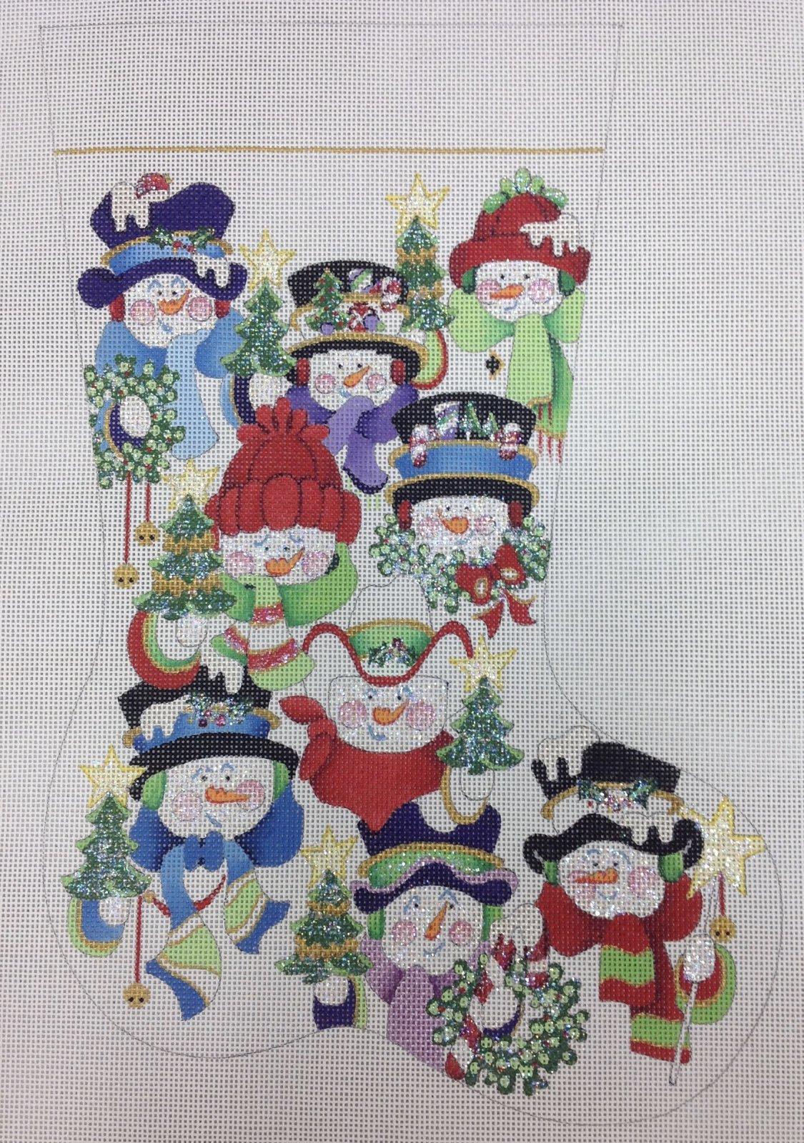 snowmen stocking