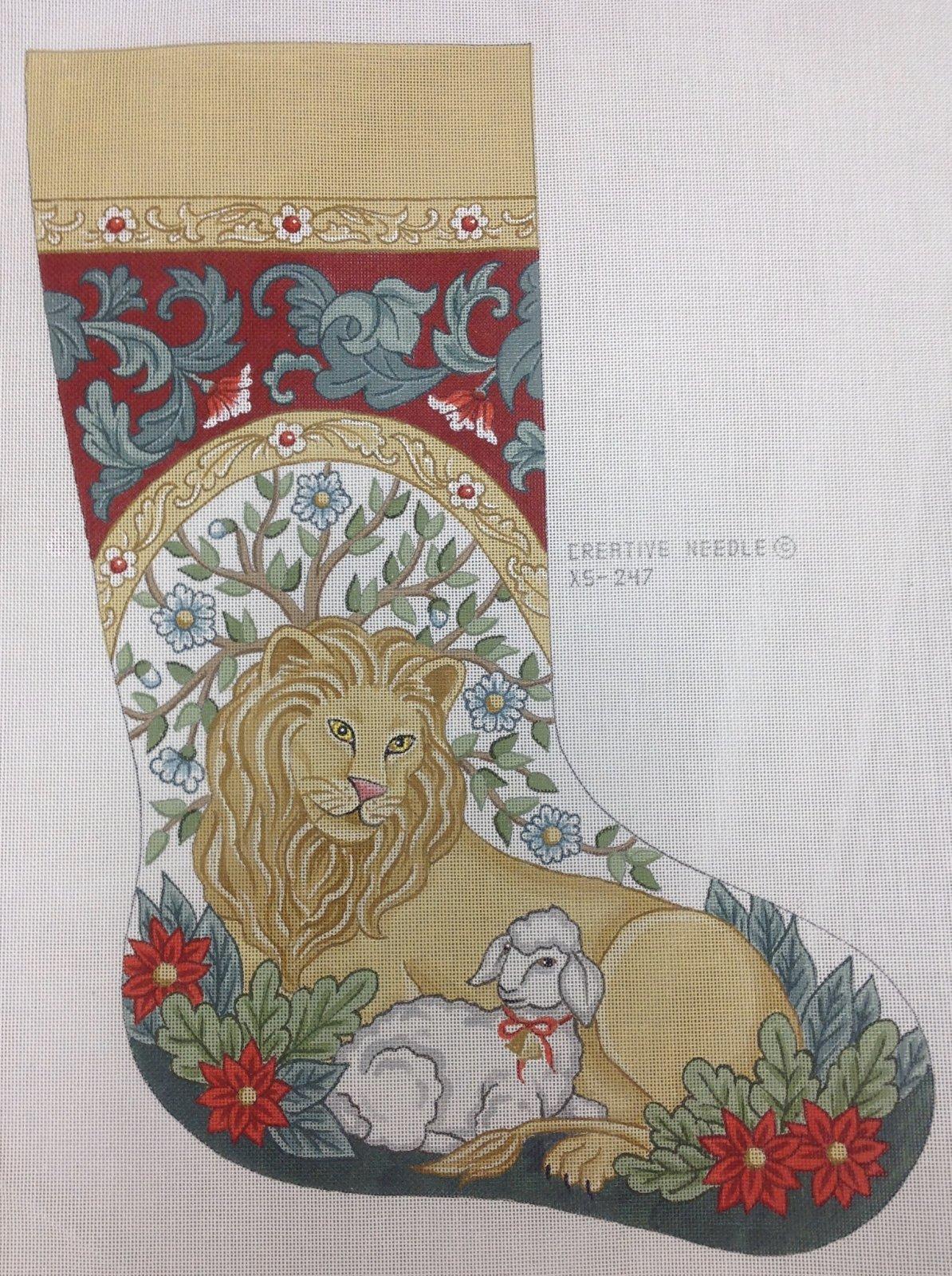 lion lamb stocking