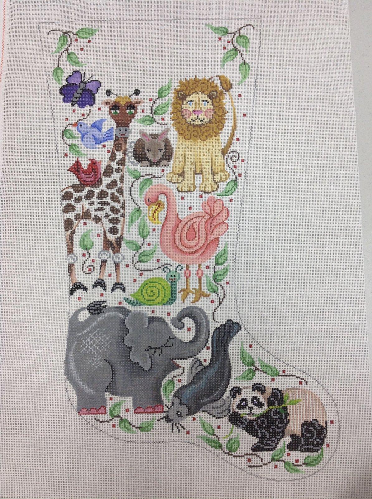animals & greenery stocking
