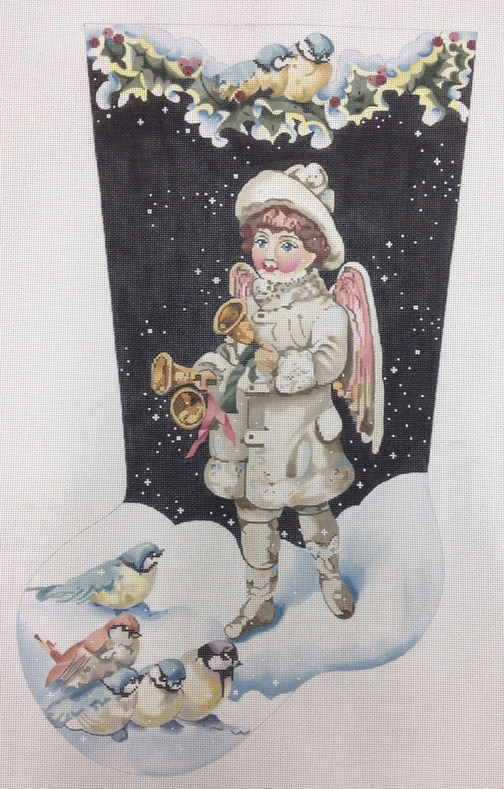 boy angel new year