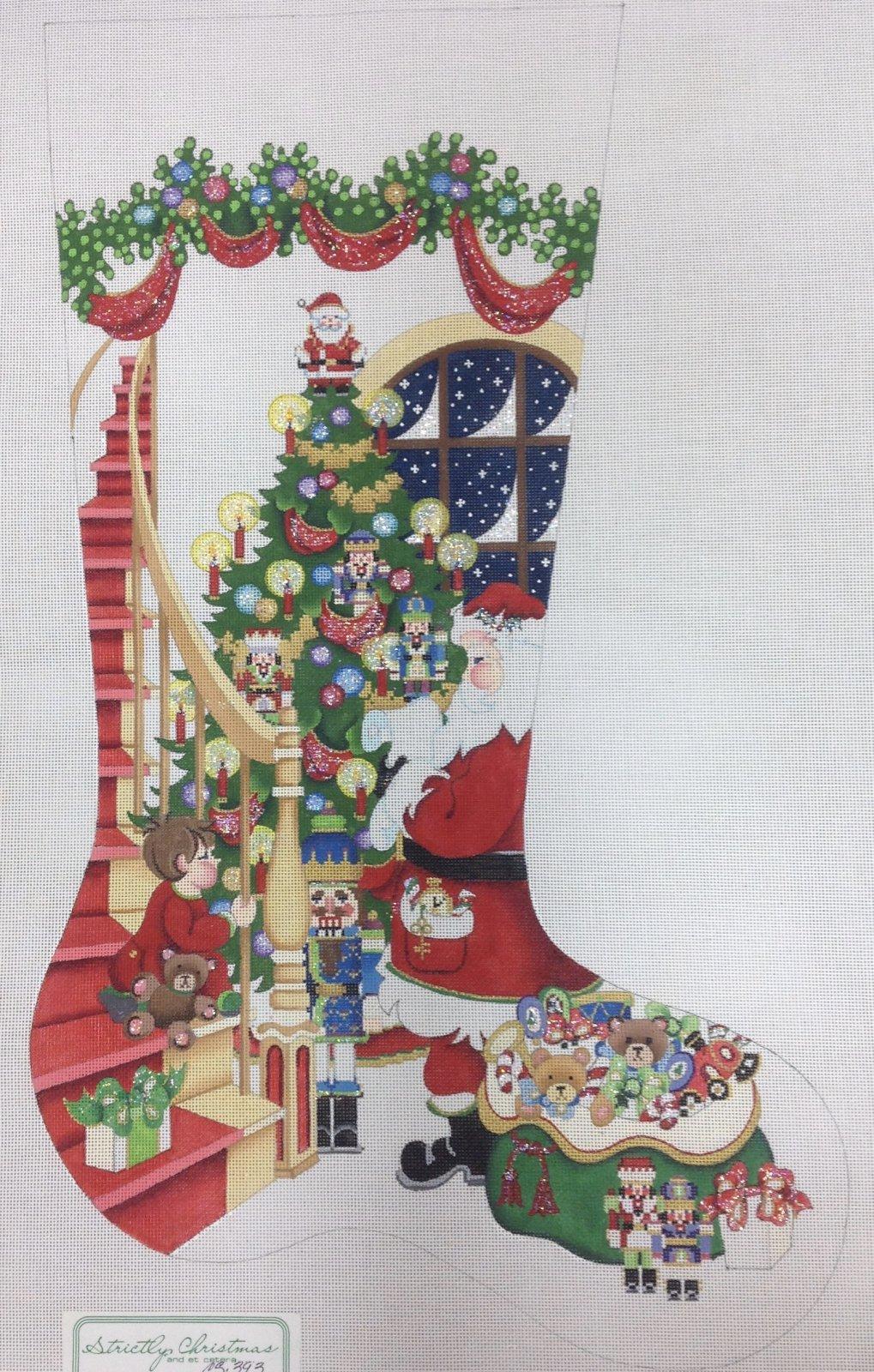 santa stocking CS393