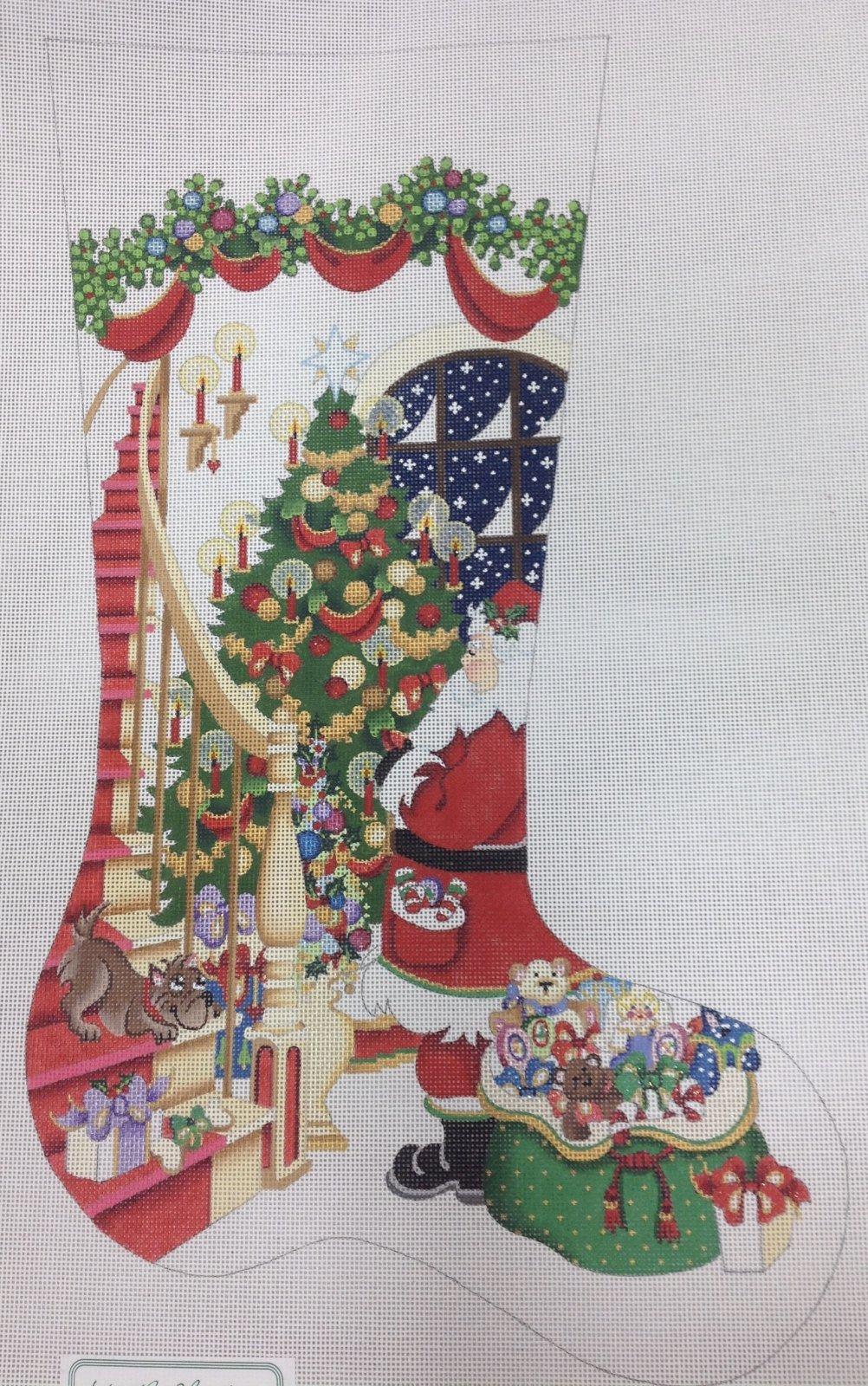 santa stocking CS390