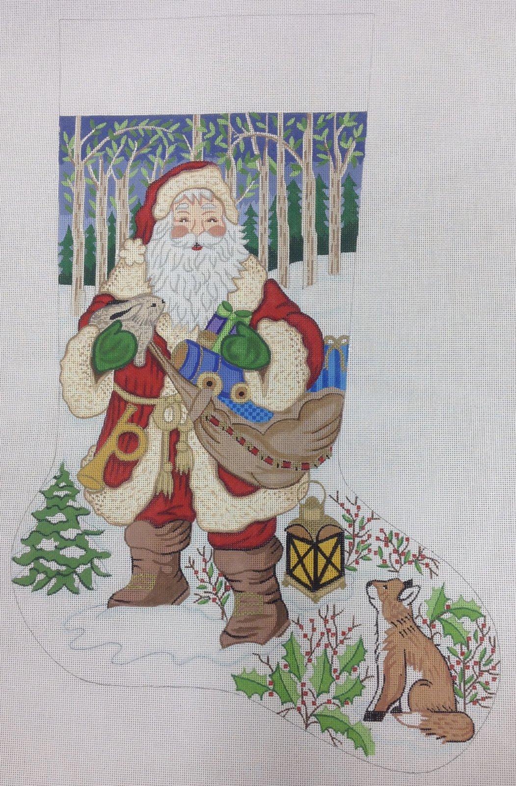 fox & rabbit stocking