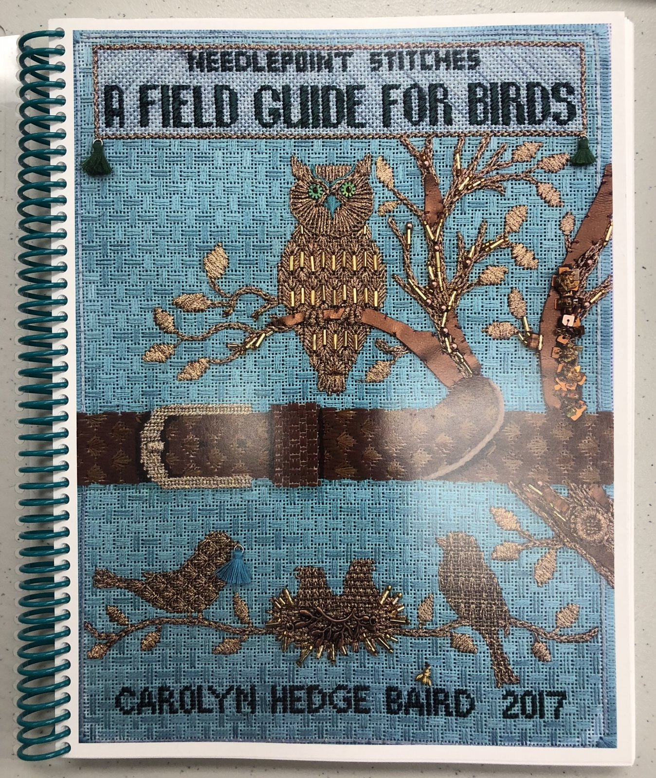 needlepoint stitches: a field guide for birds