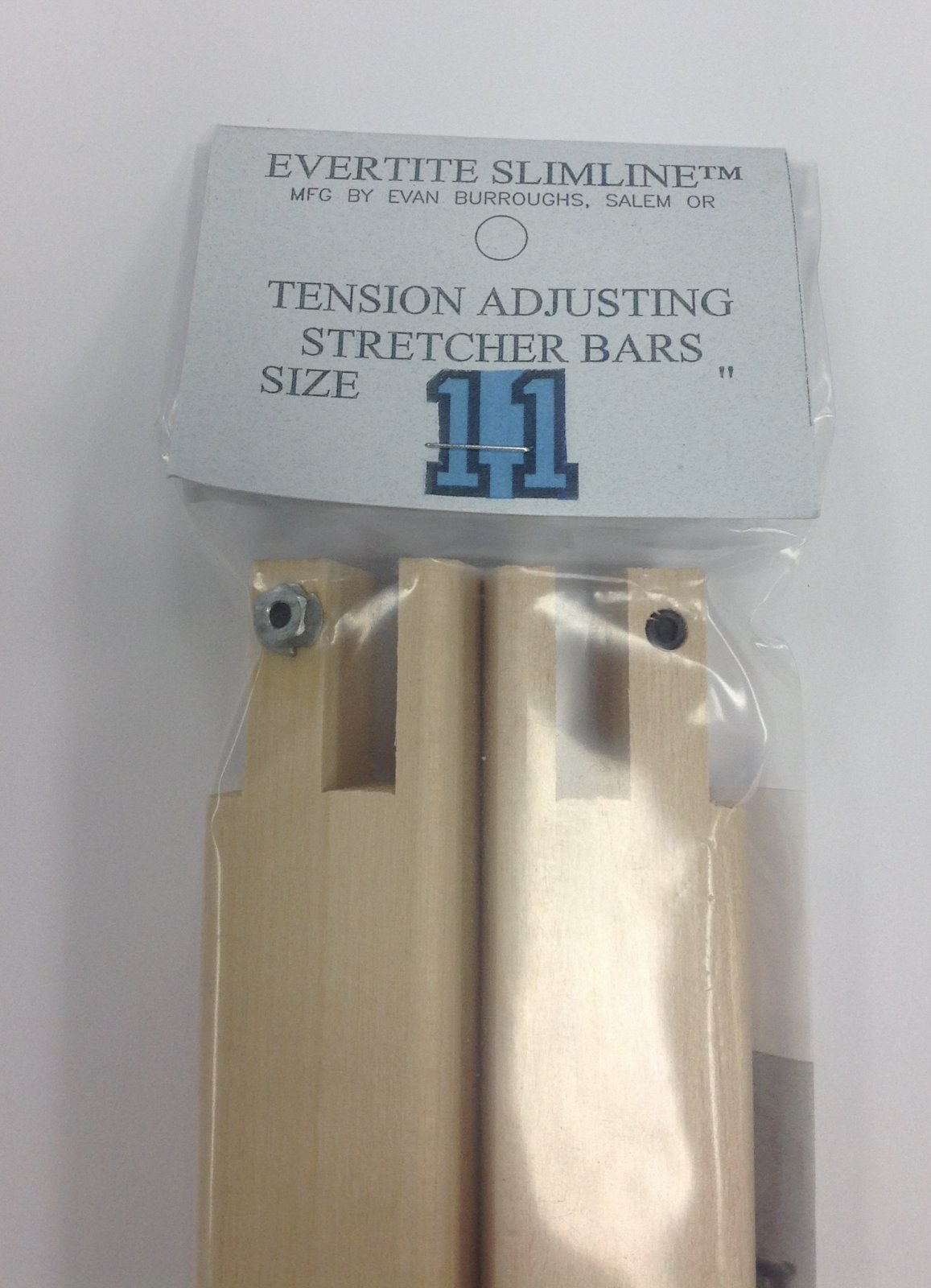 """Evertite 13/"""" Tension Adjusting Stretcher Bars  used two bars one pair"""