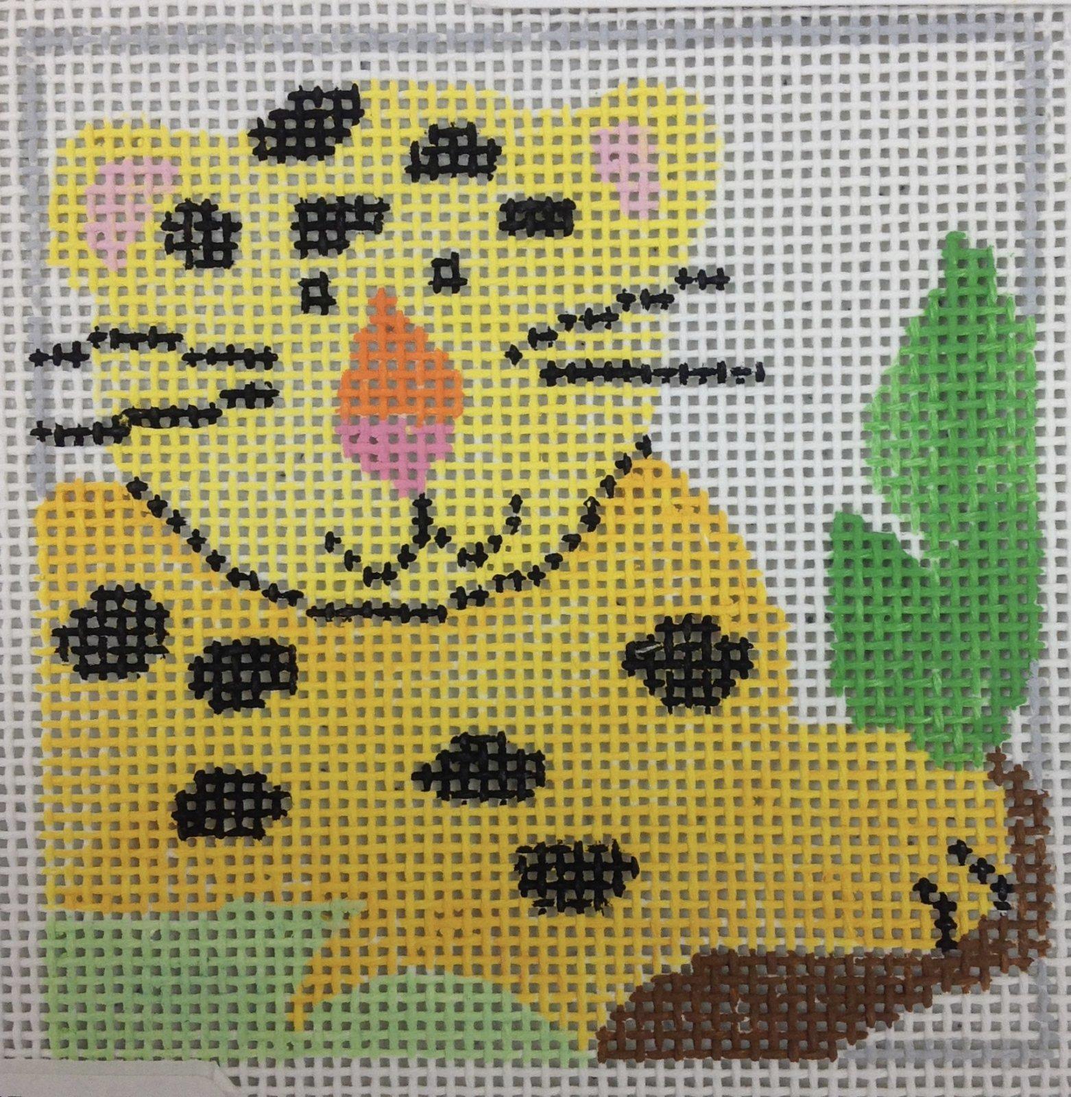 zoo coasters - leopard