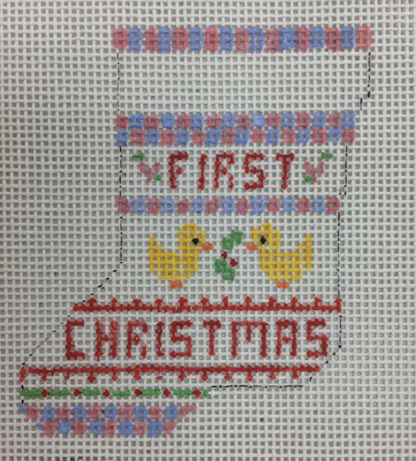first christmas w ducks