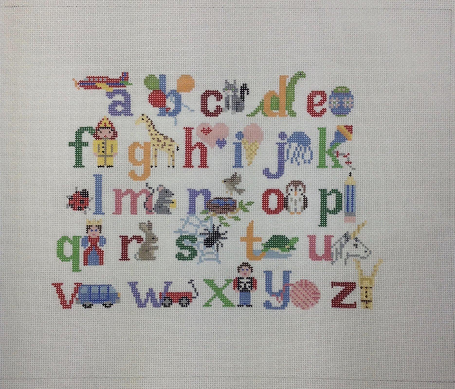 alphabet w characters