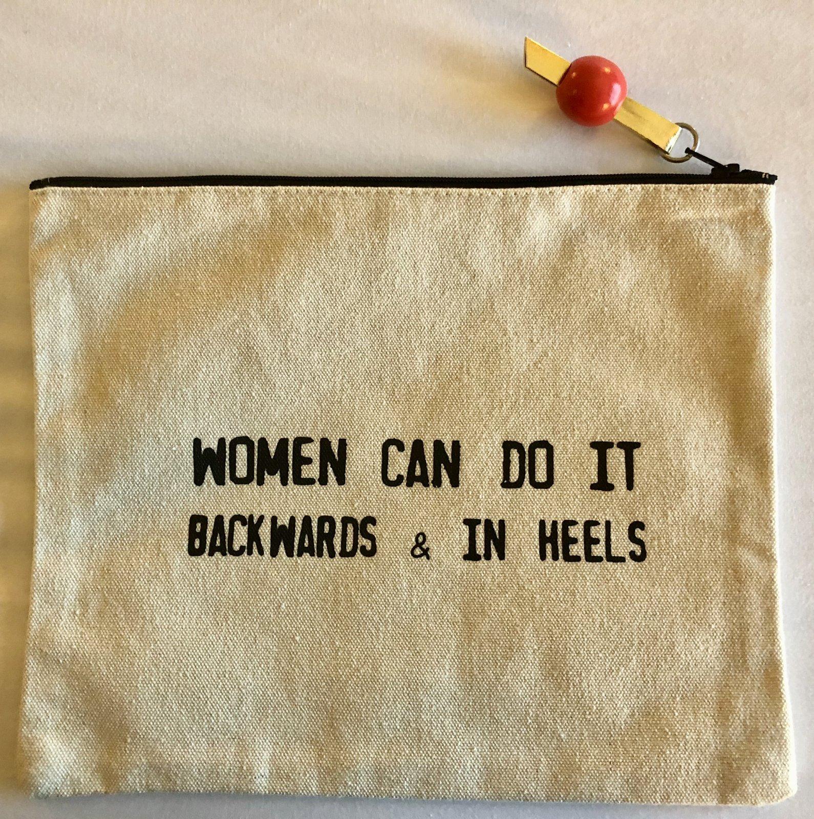 women can do it...heels