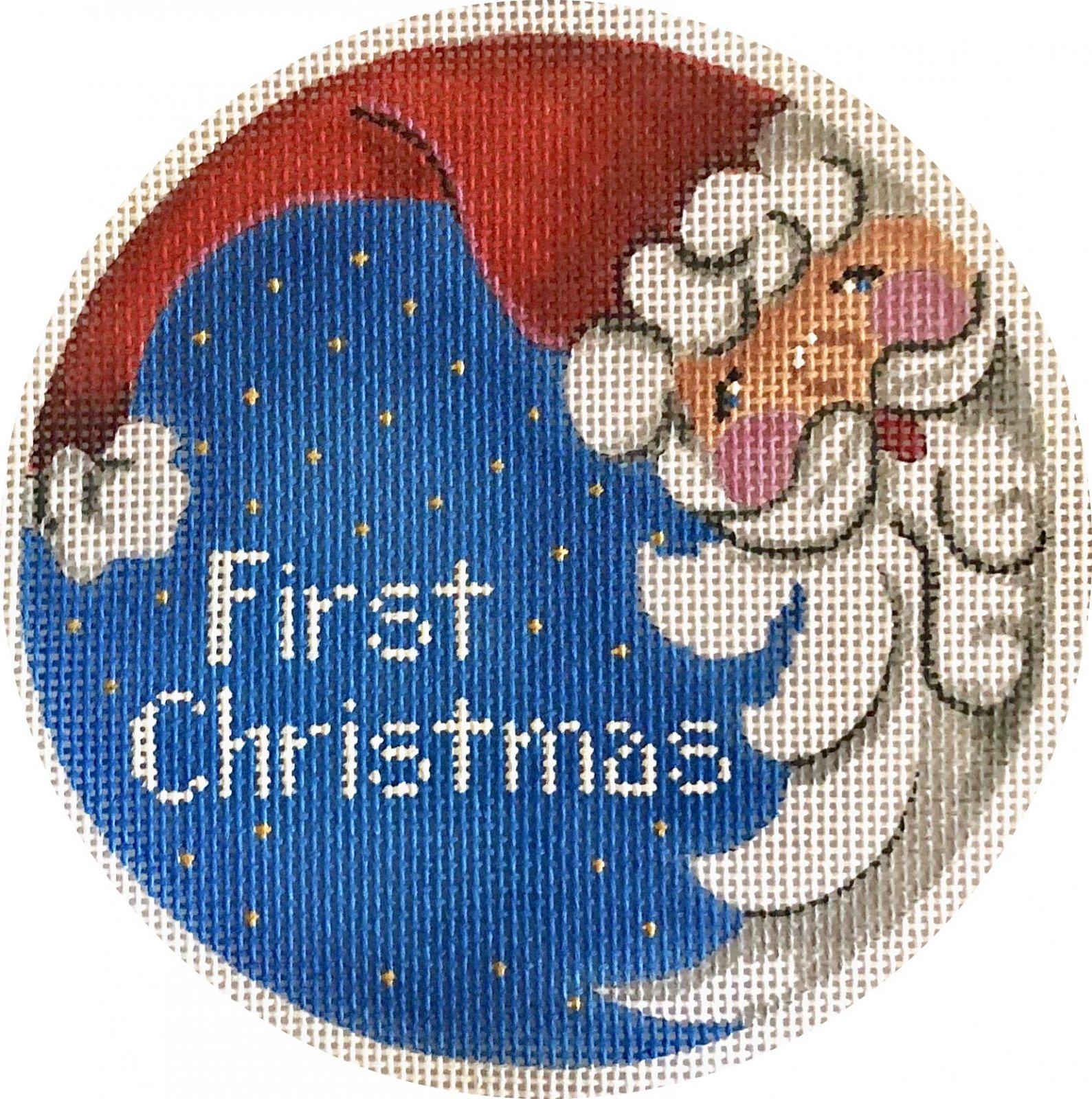 first christmas w santa