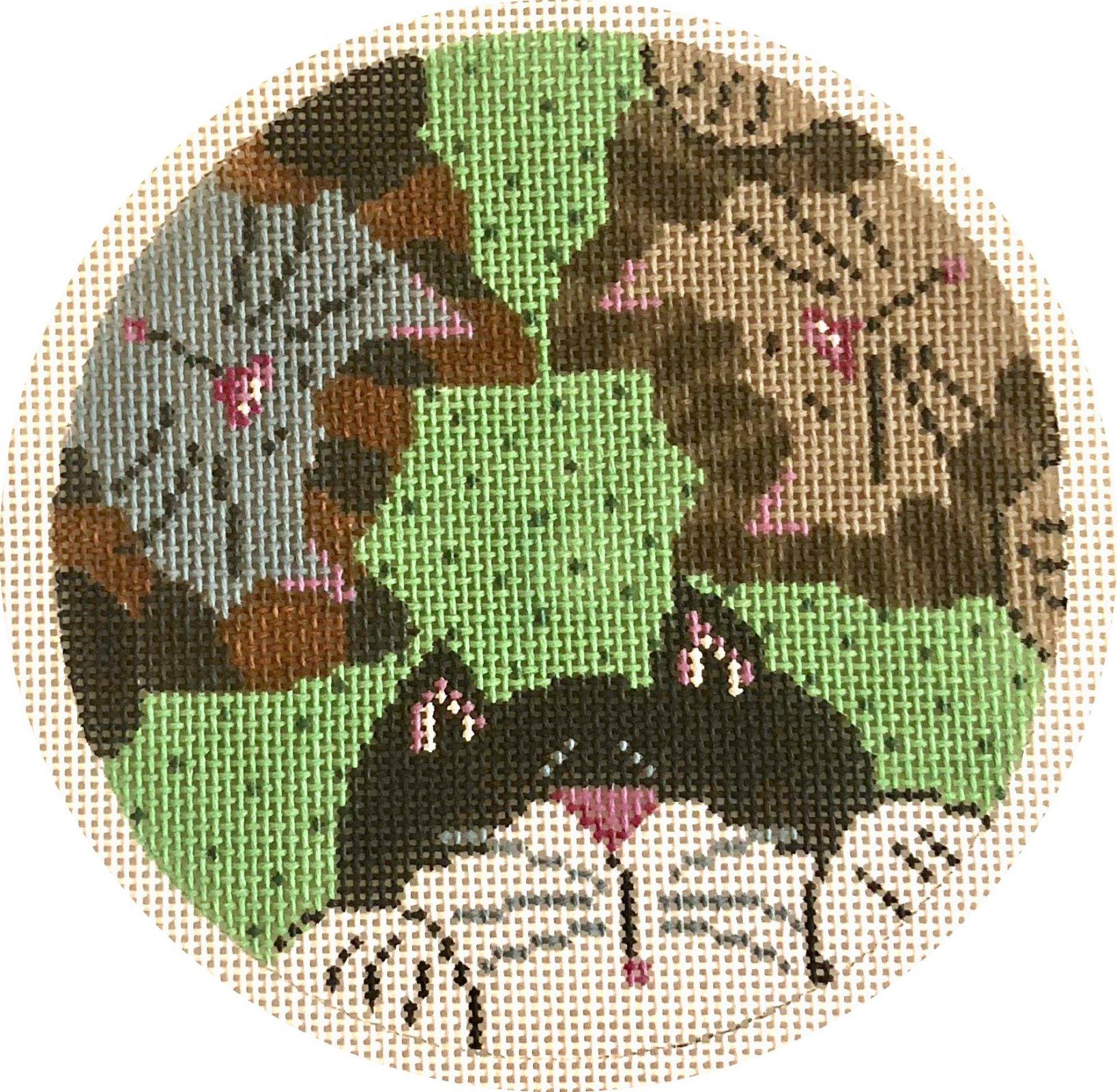 3 cats round