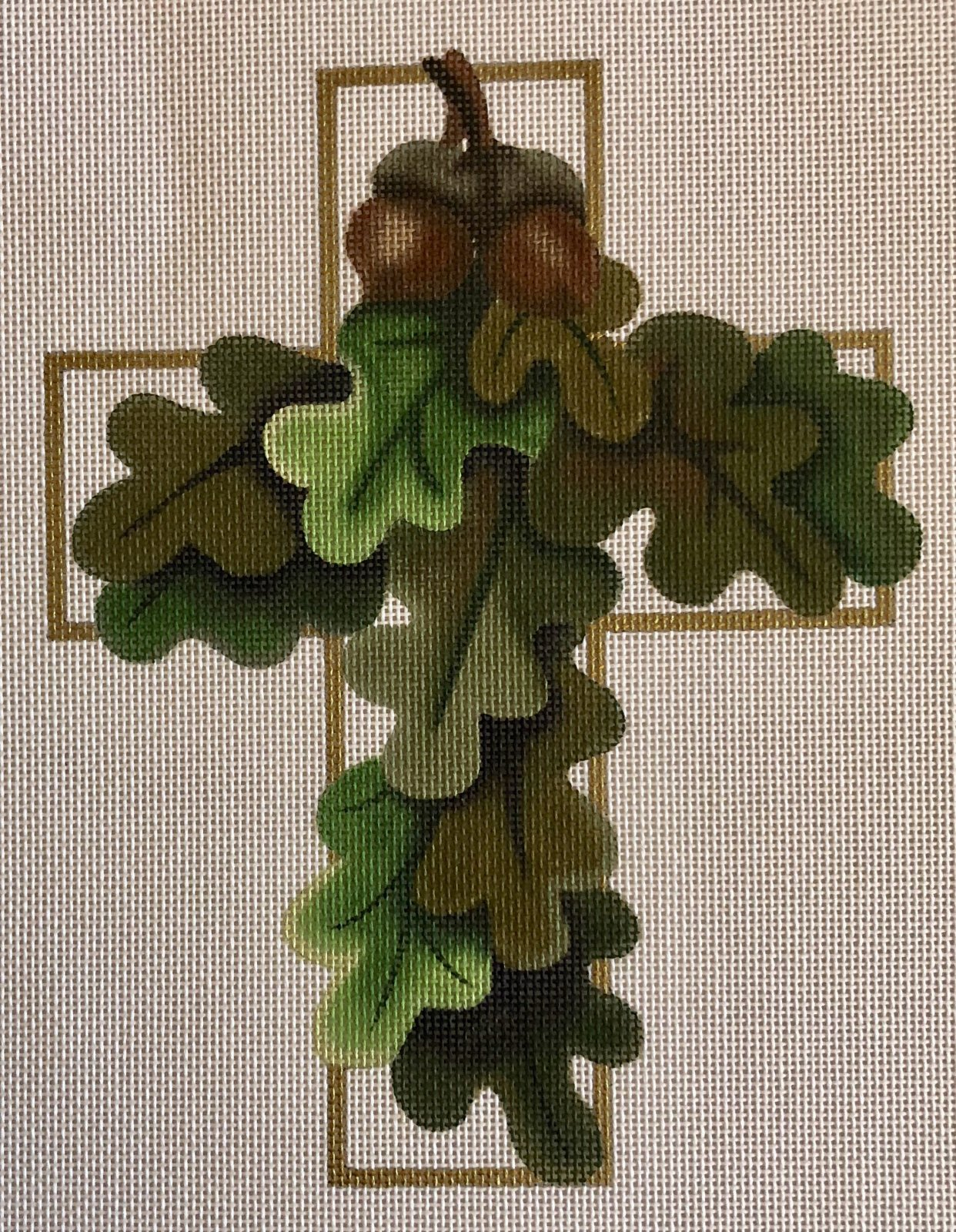 oak leaf cross