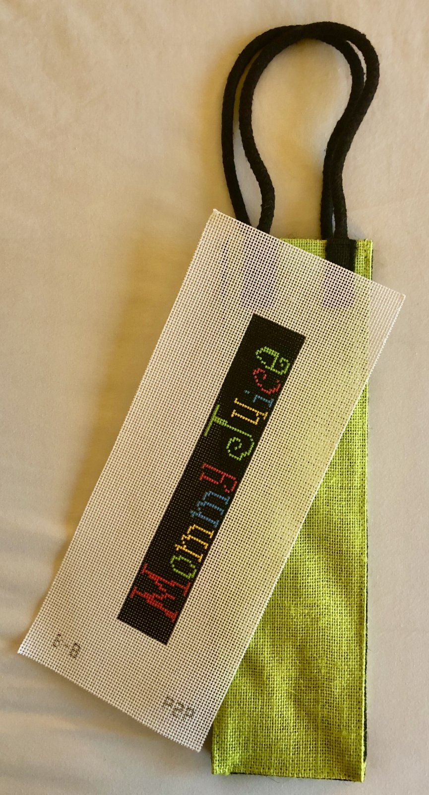 canvas & wine bag
