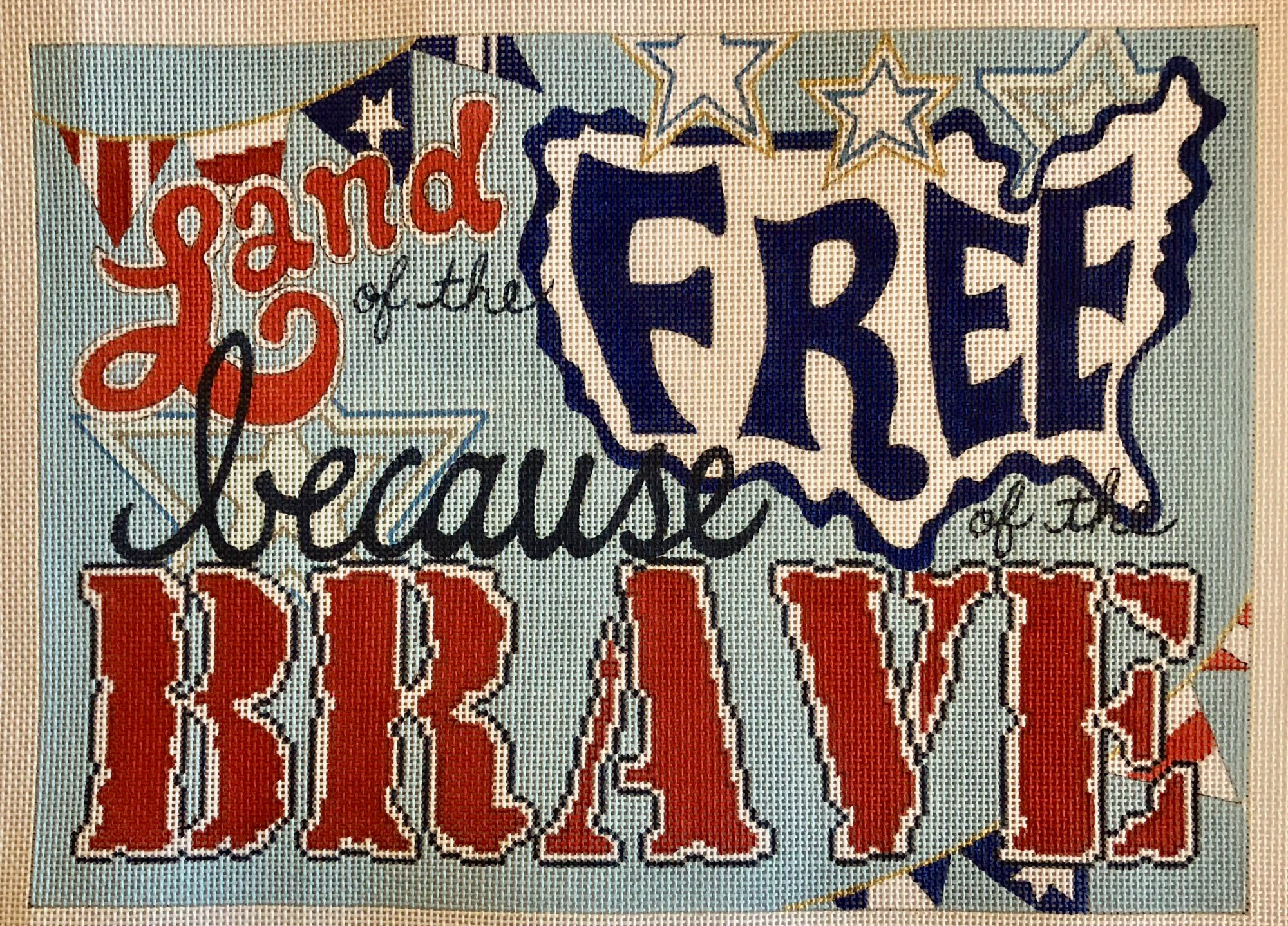 land of the free...brave
