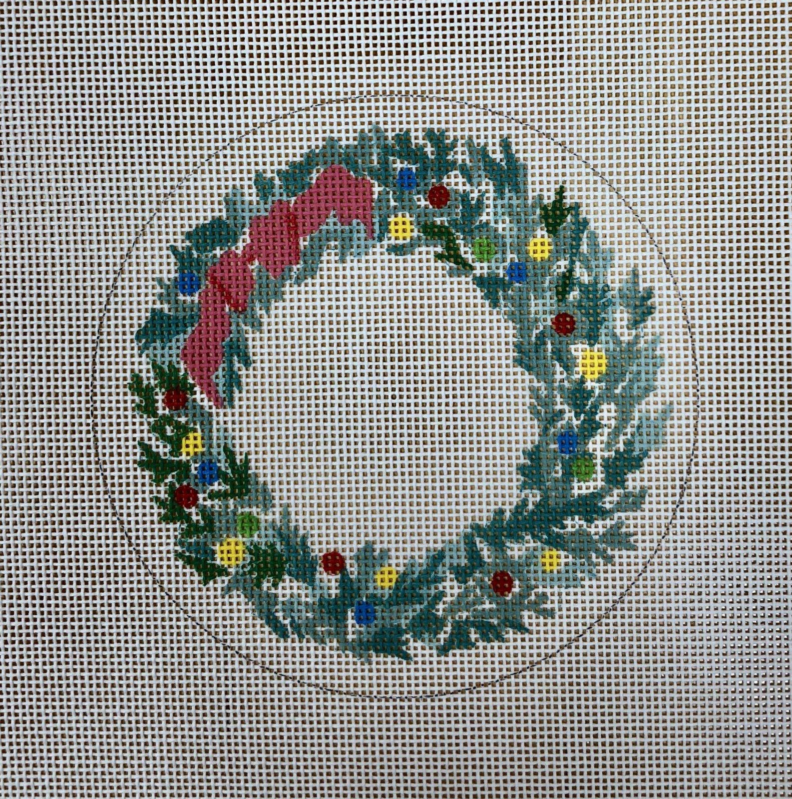 christmas wreath w bow