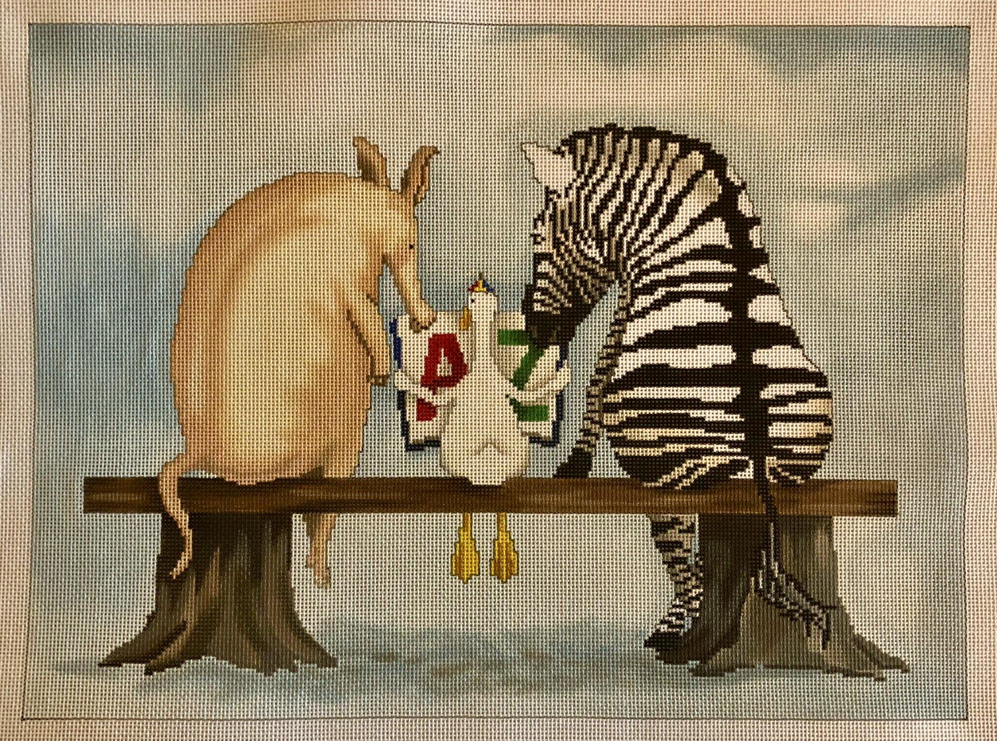 a - z pig & zebra