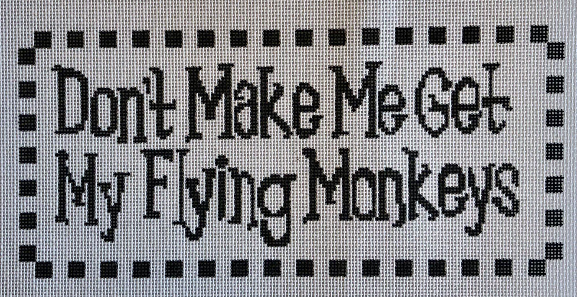 don't make me...flying monkeys