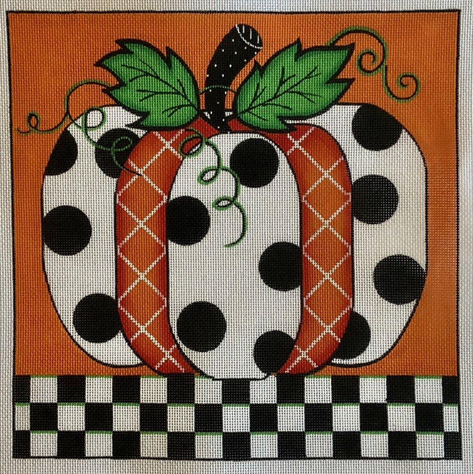 pumpkin blk & white