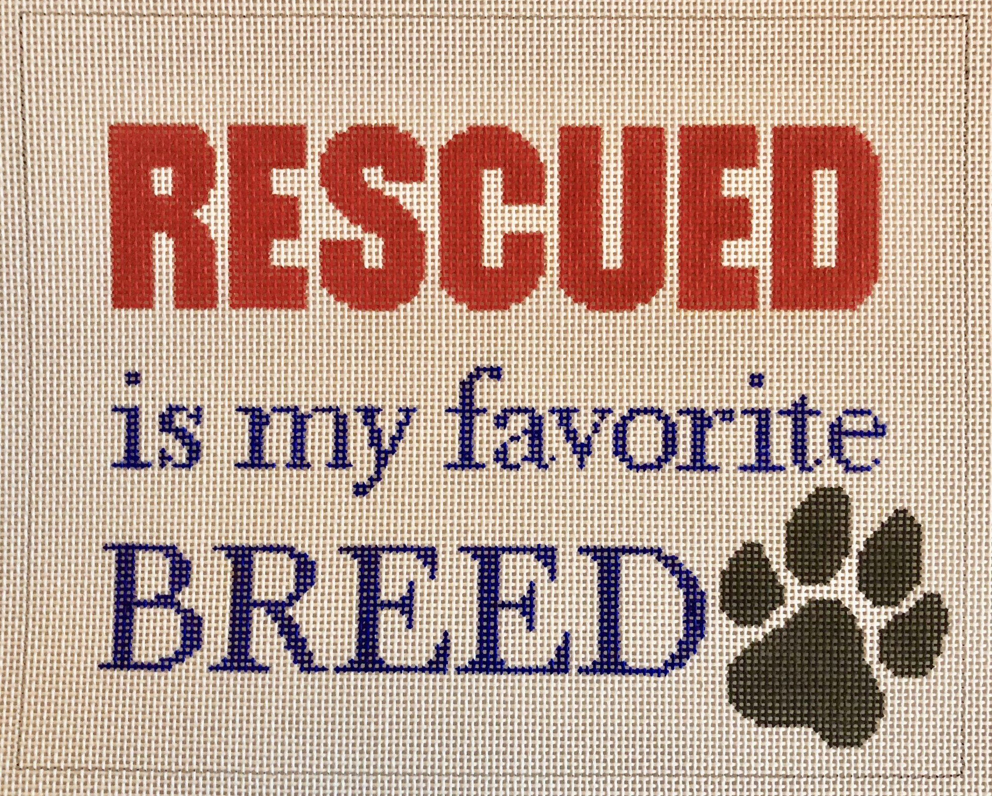 rescued...favorite breed