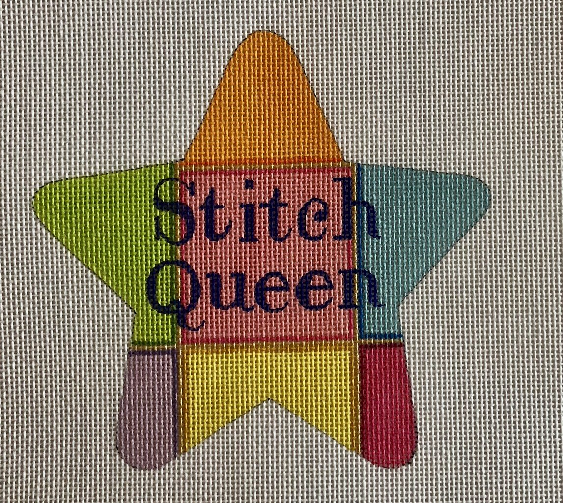 stitch queen star