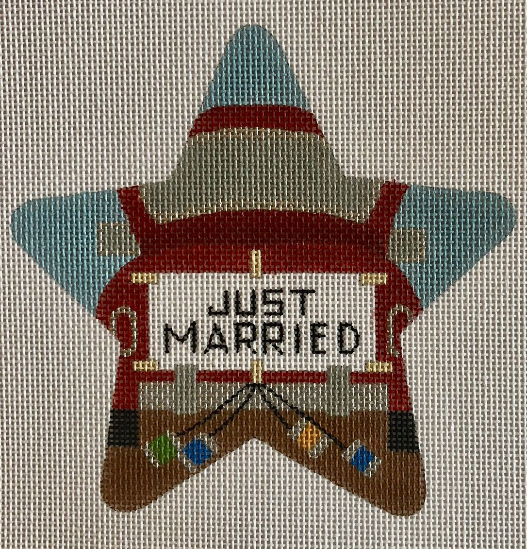 just married star