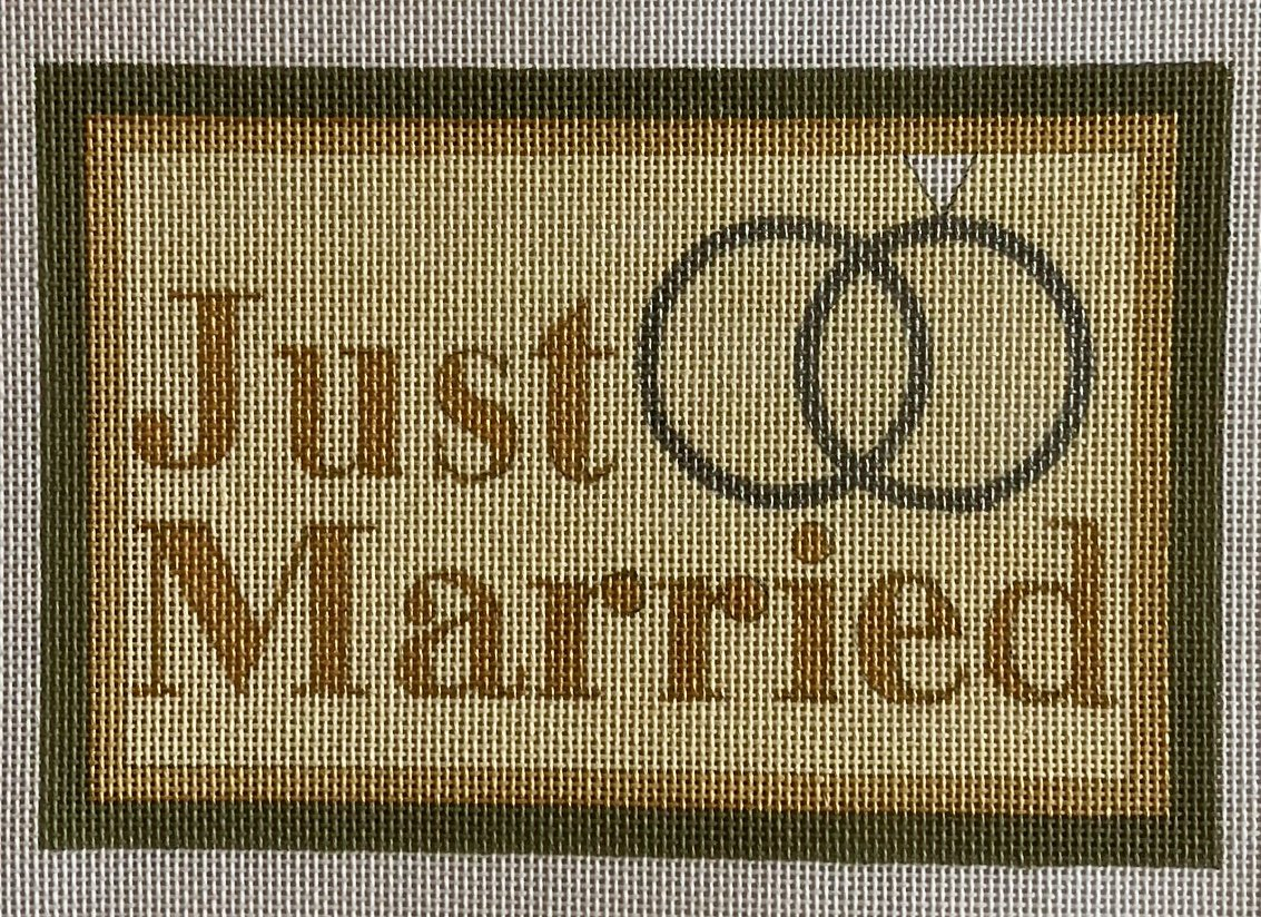 just married w rings