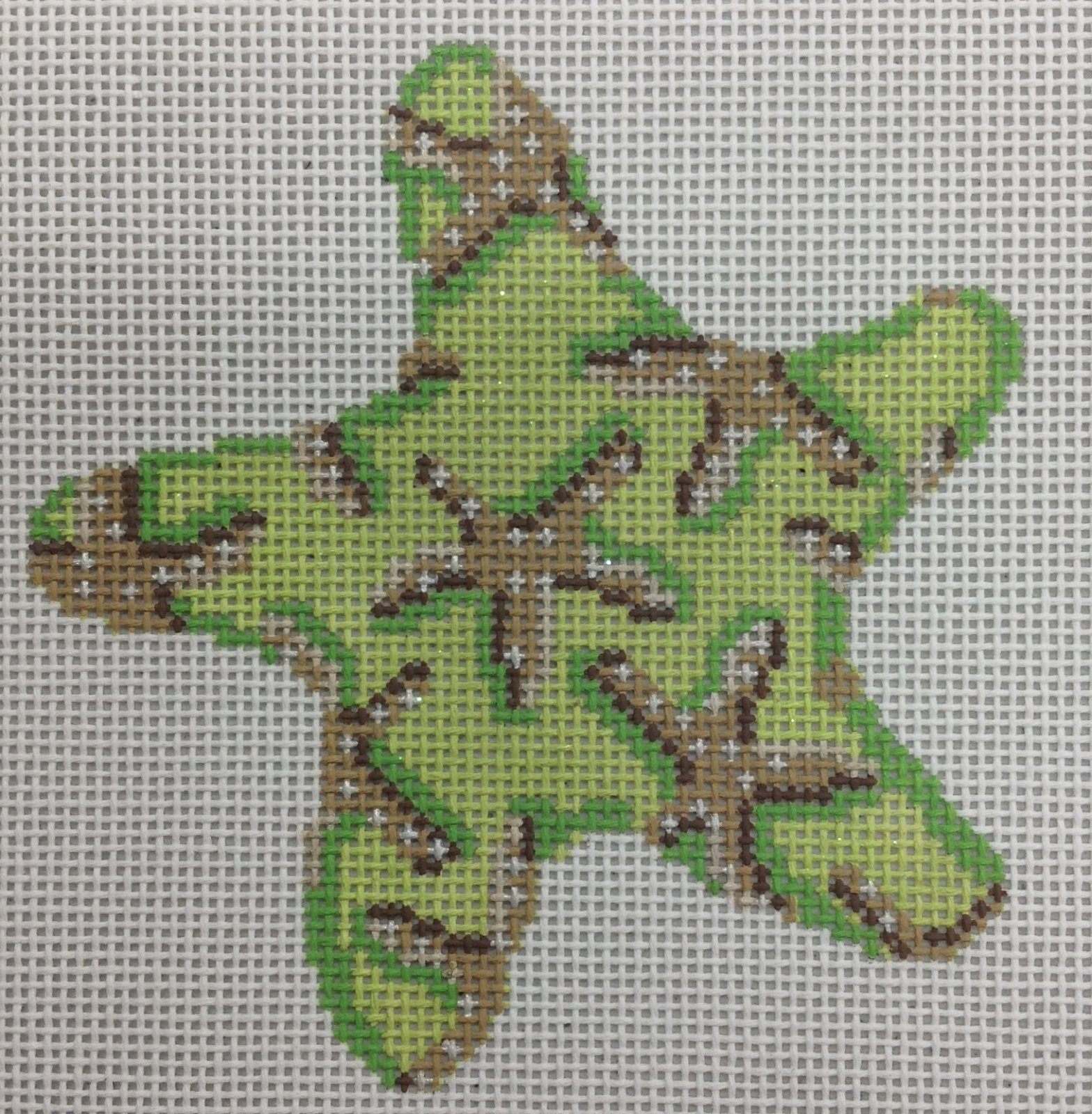 starfish on lime