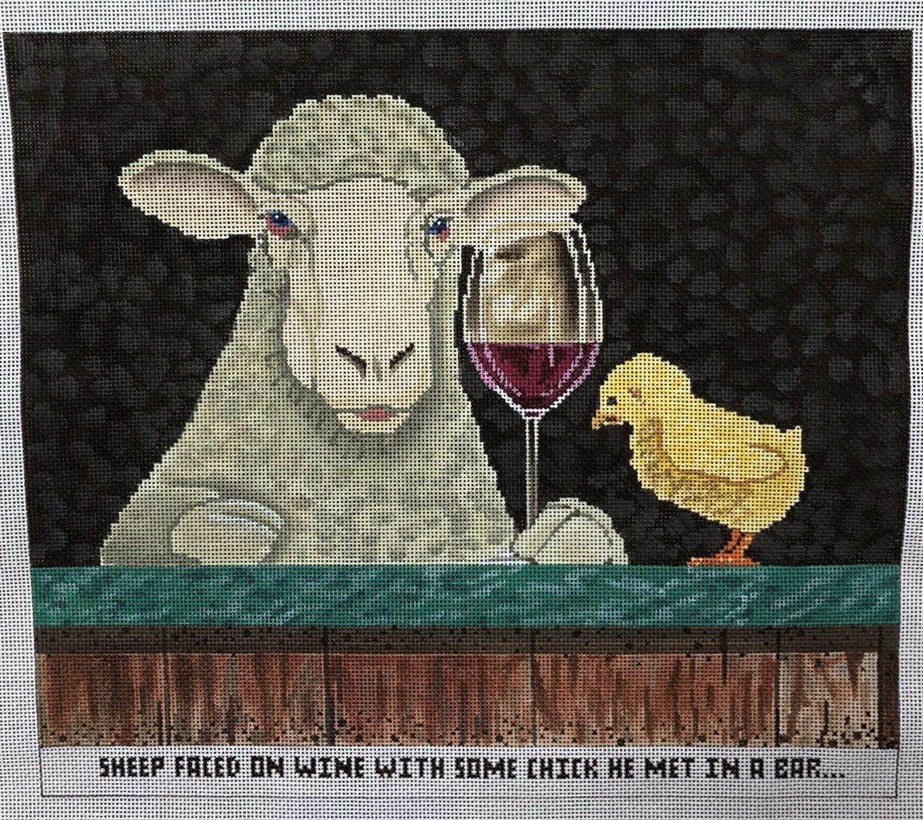 sheep faced