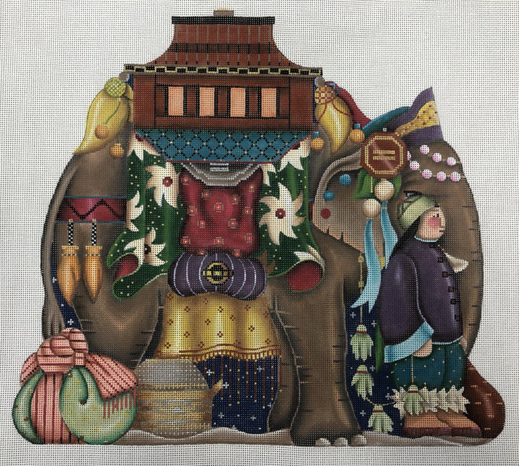 elephant nativity