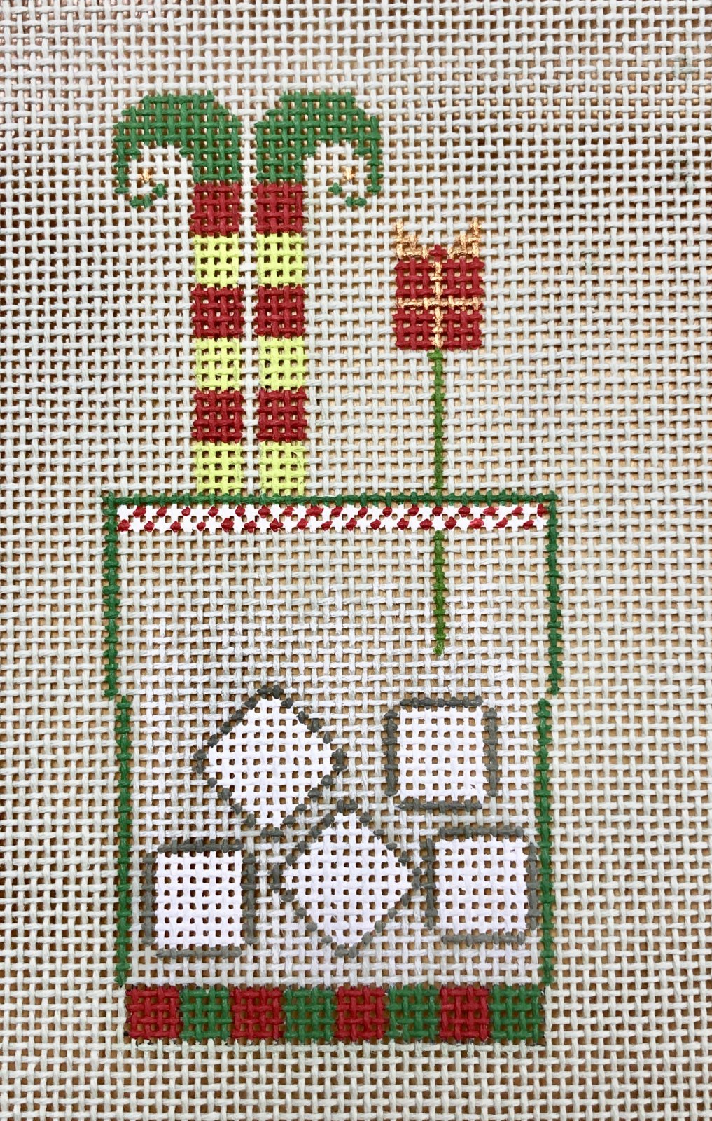 elf drink w stitch guide & embellishment kit