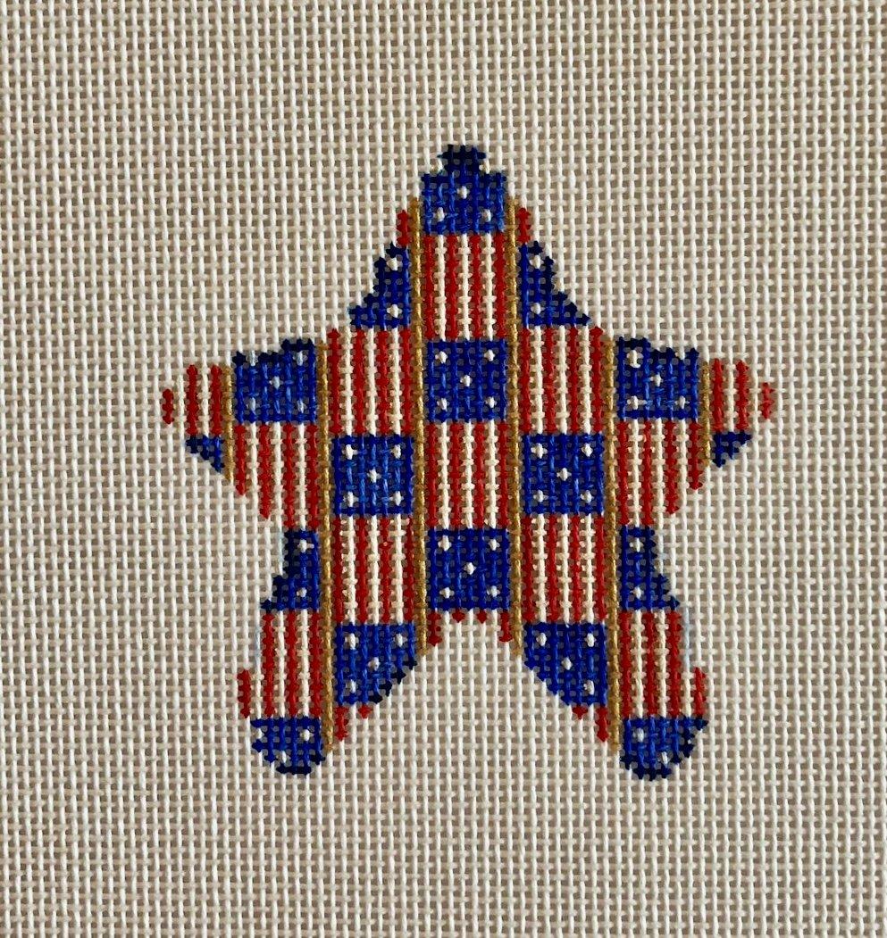 flag stripe mini star