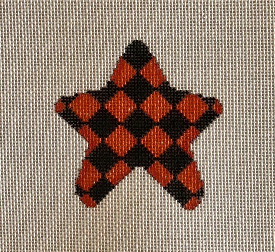 orange  harlequin mini star
