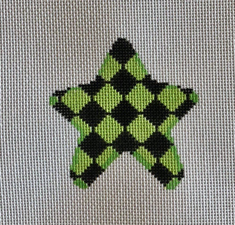 lime harlequin mini star