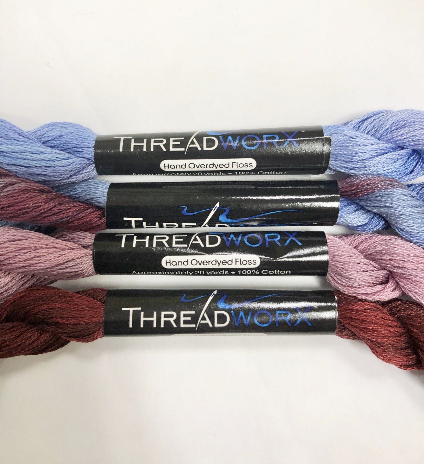 Over-dyed,embroidery floss,Parchment 20yards DMC CONVERSION  677