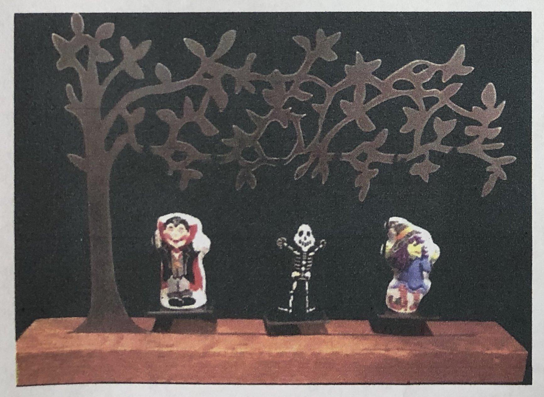 swing set characters, halloween
