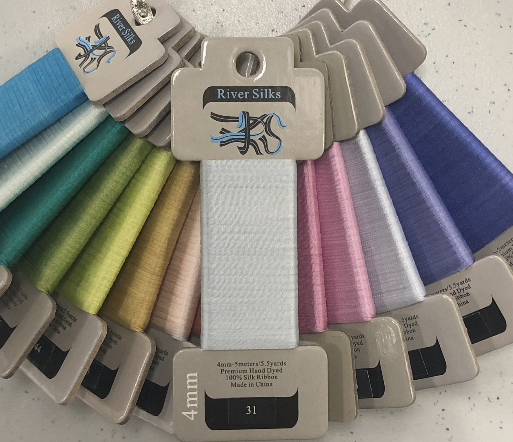 river silk ribbons