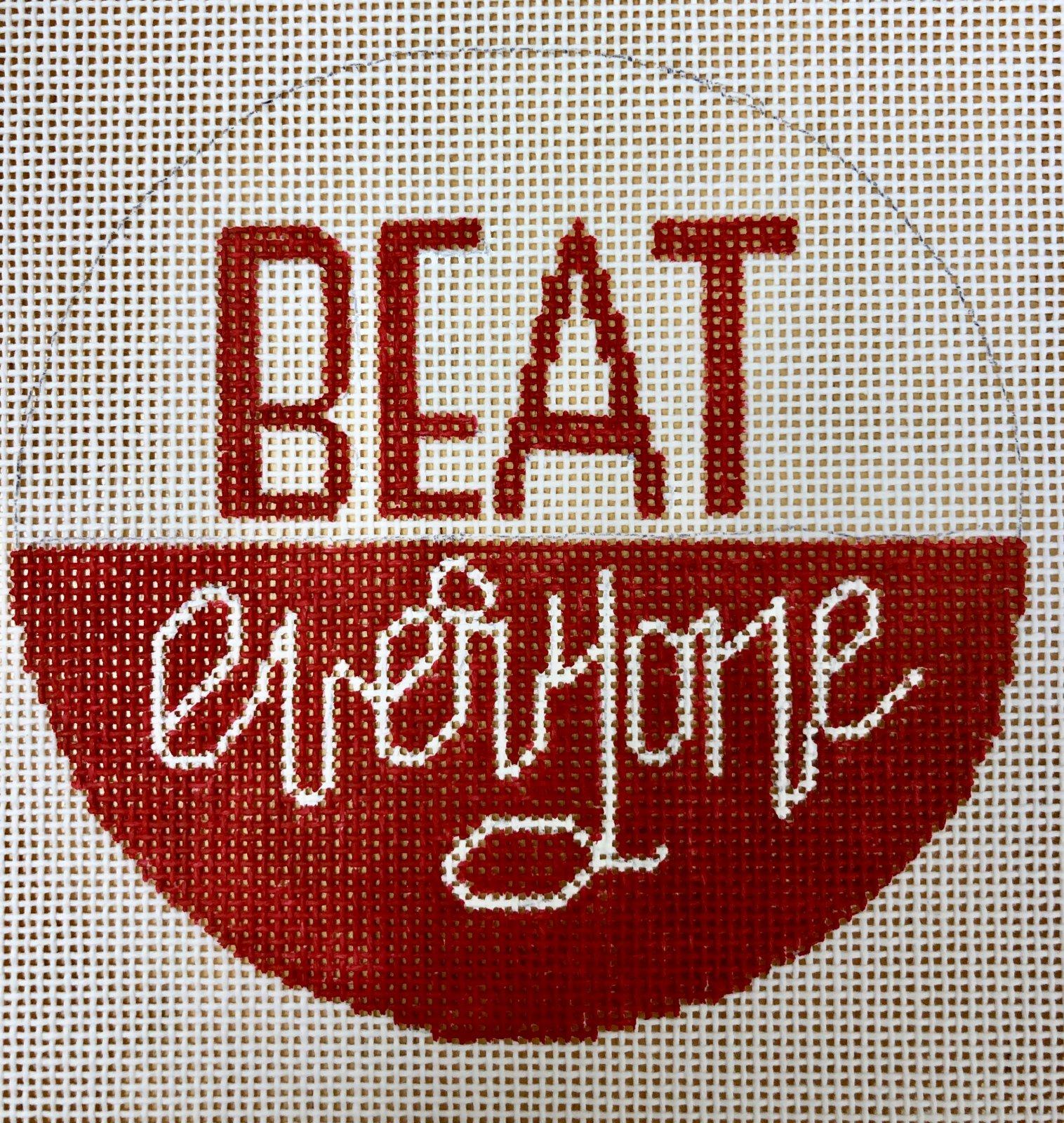 beat everyone, red & white
