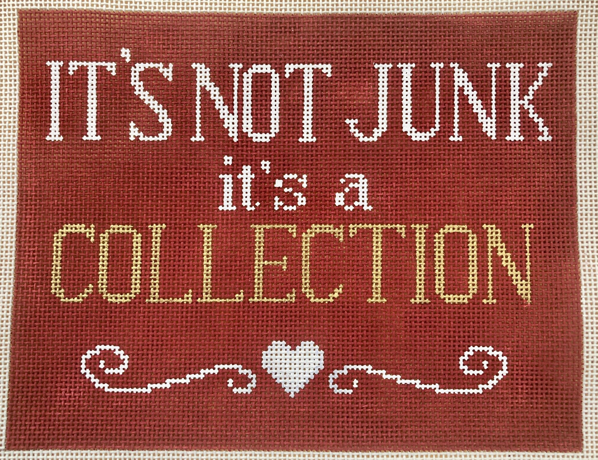 it's not junk, it's a collection
