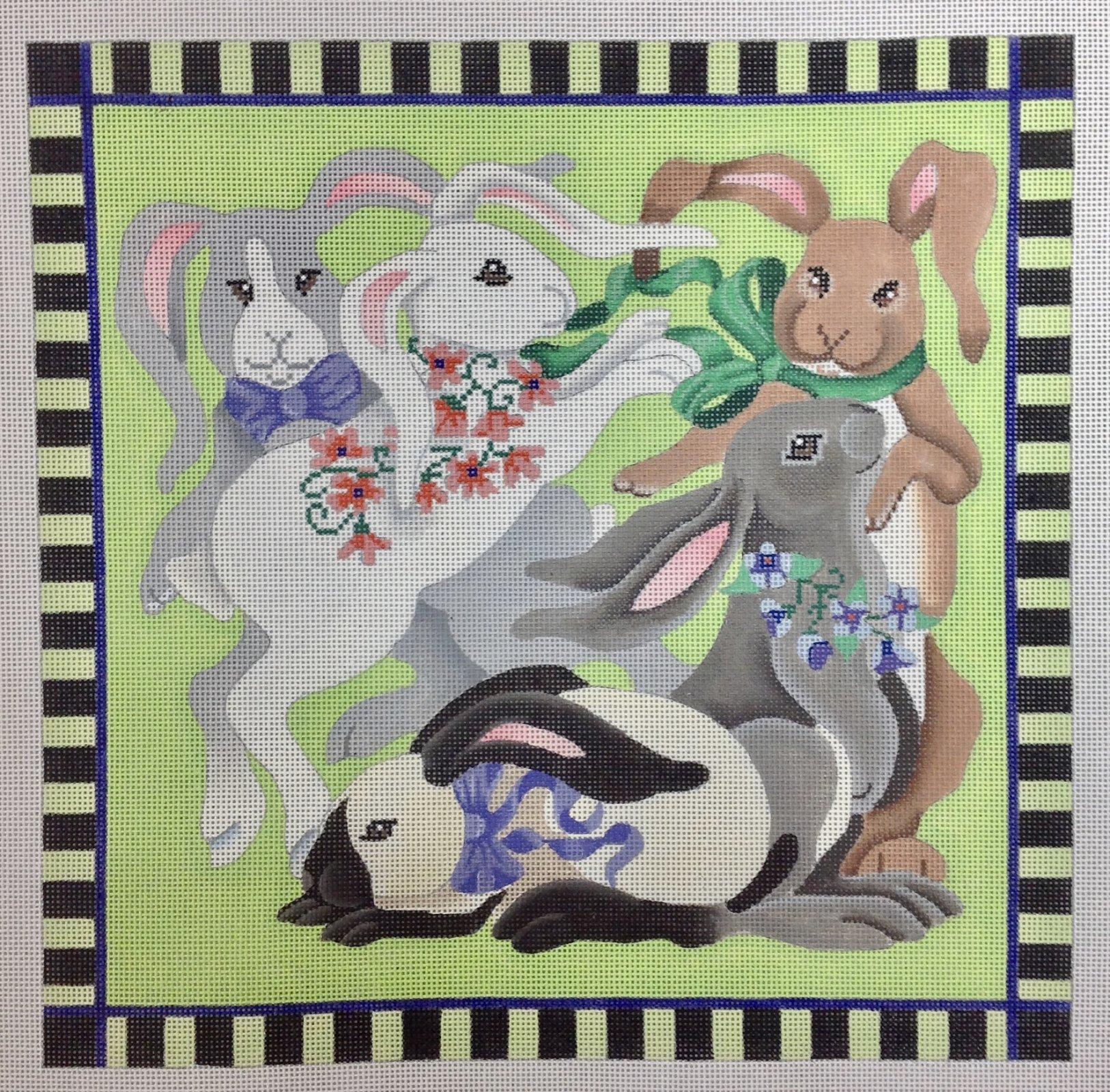 playing bunnies