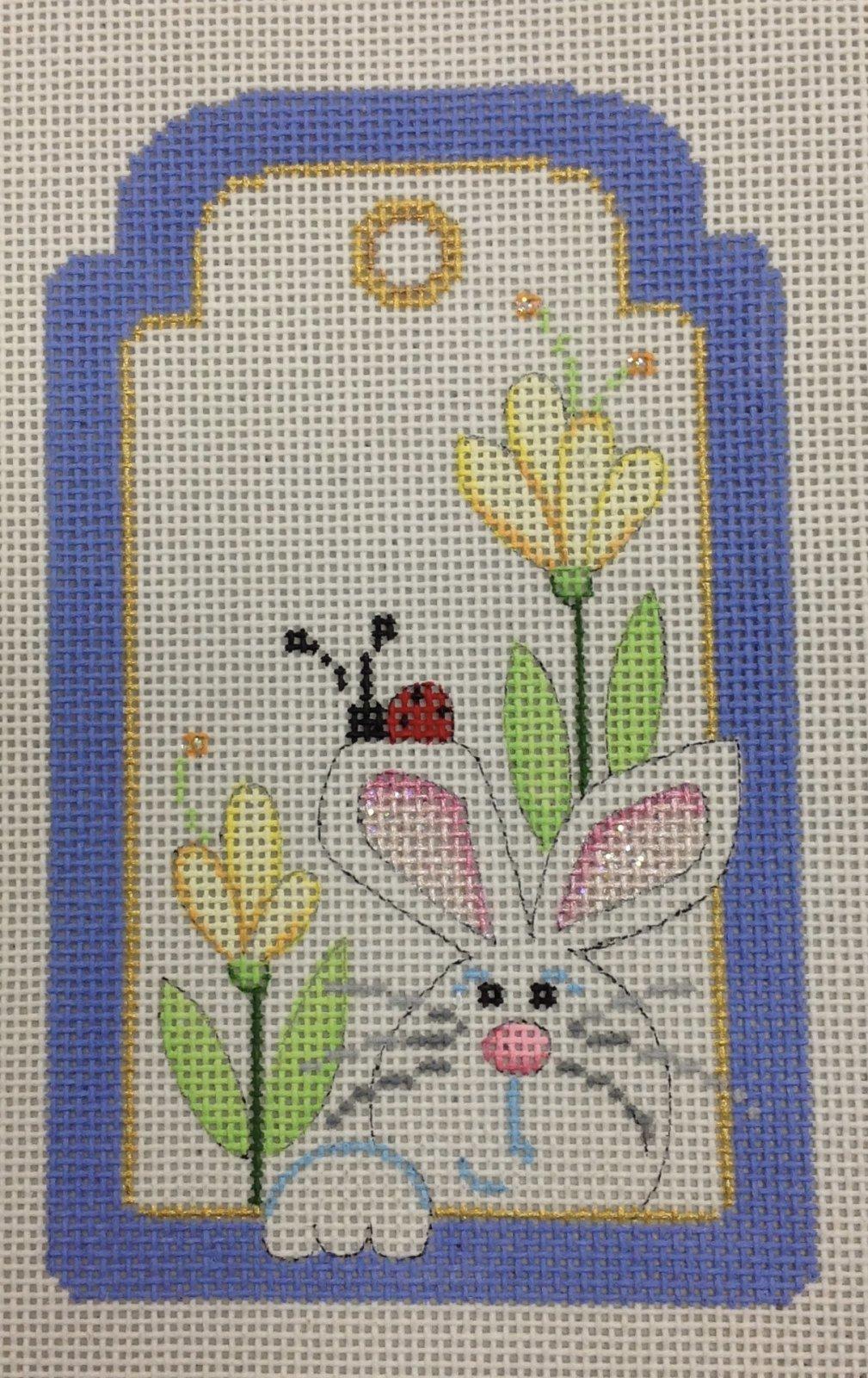 bunny & ladybug tag