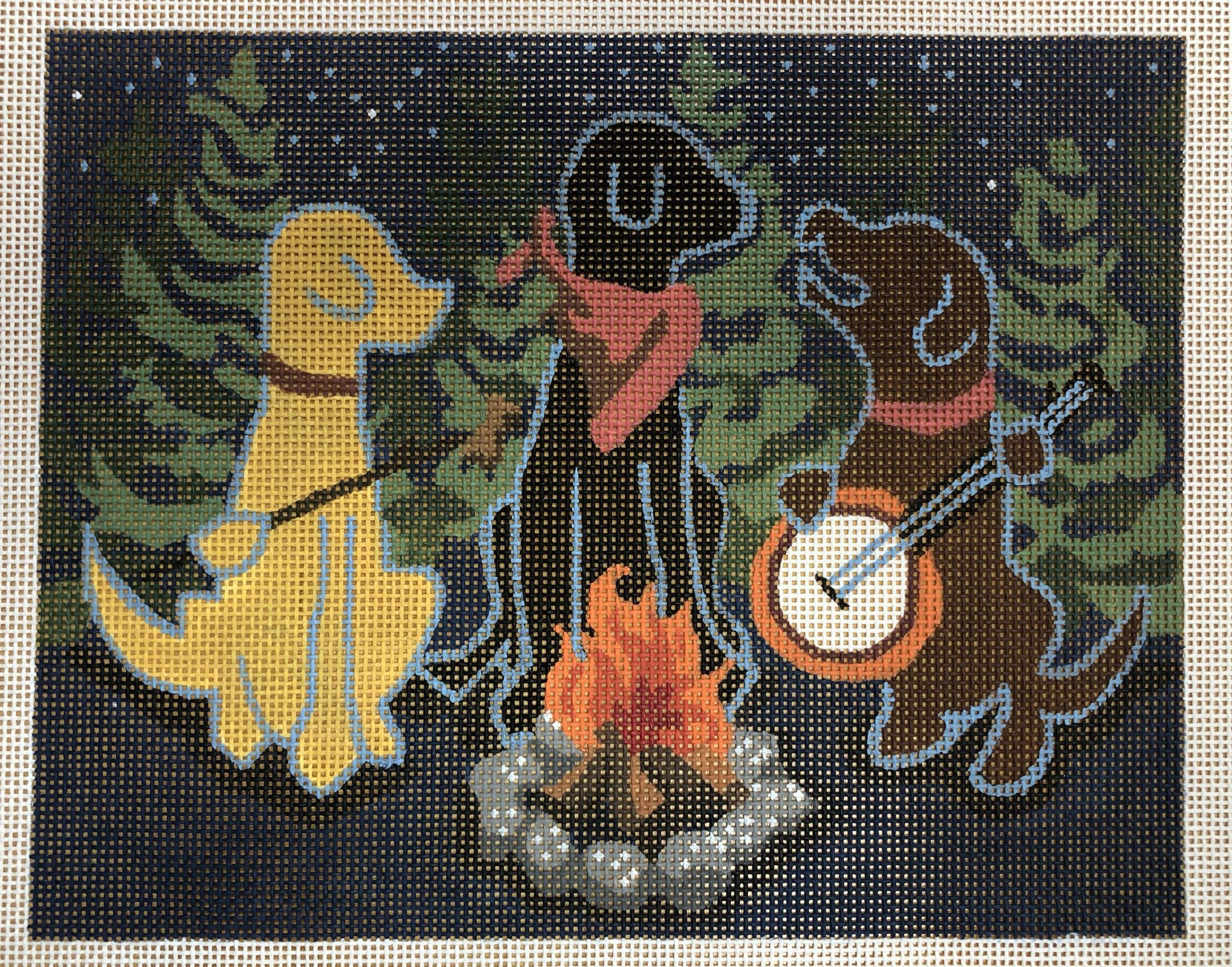campfire dogs