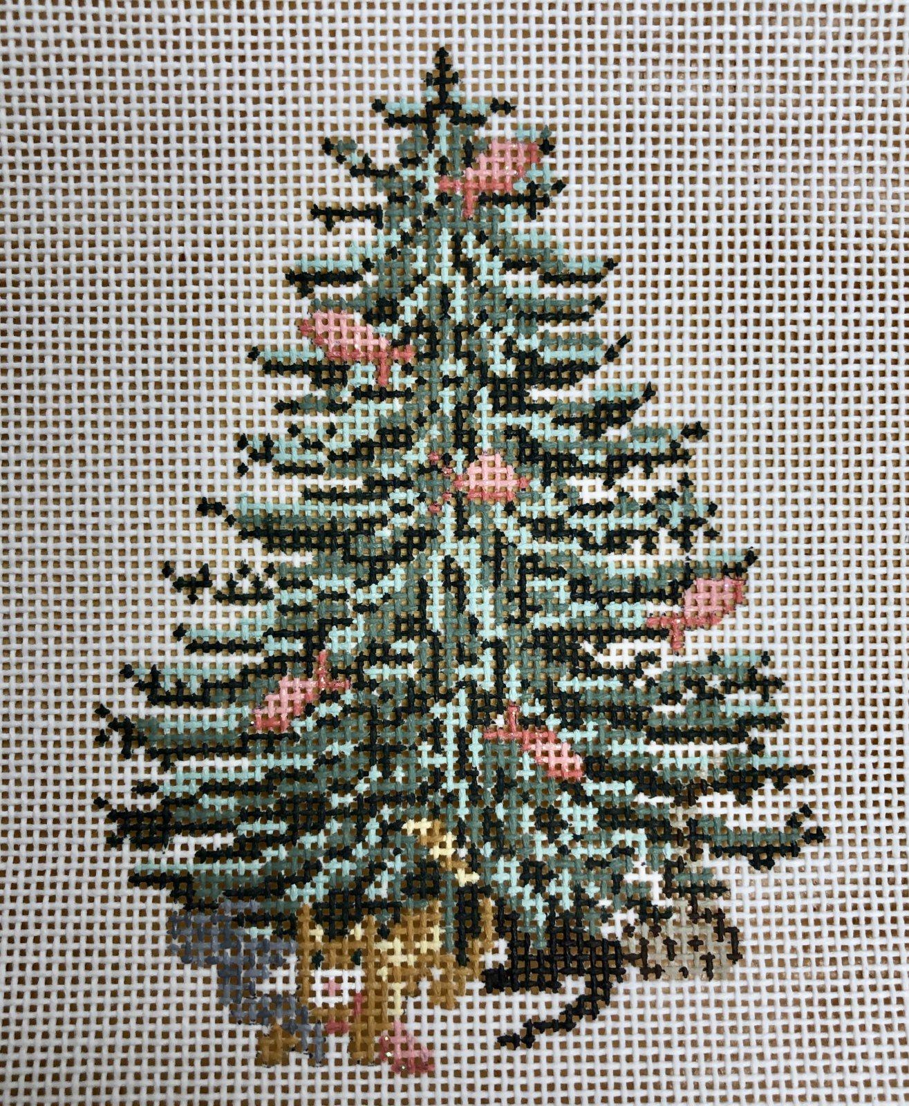 cat & fish christmas tree