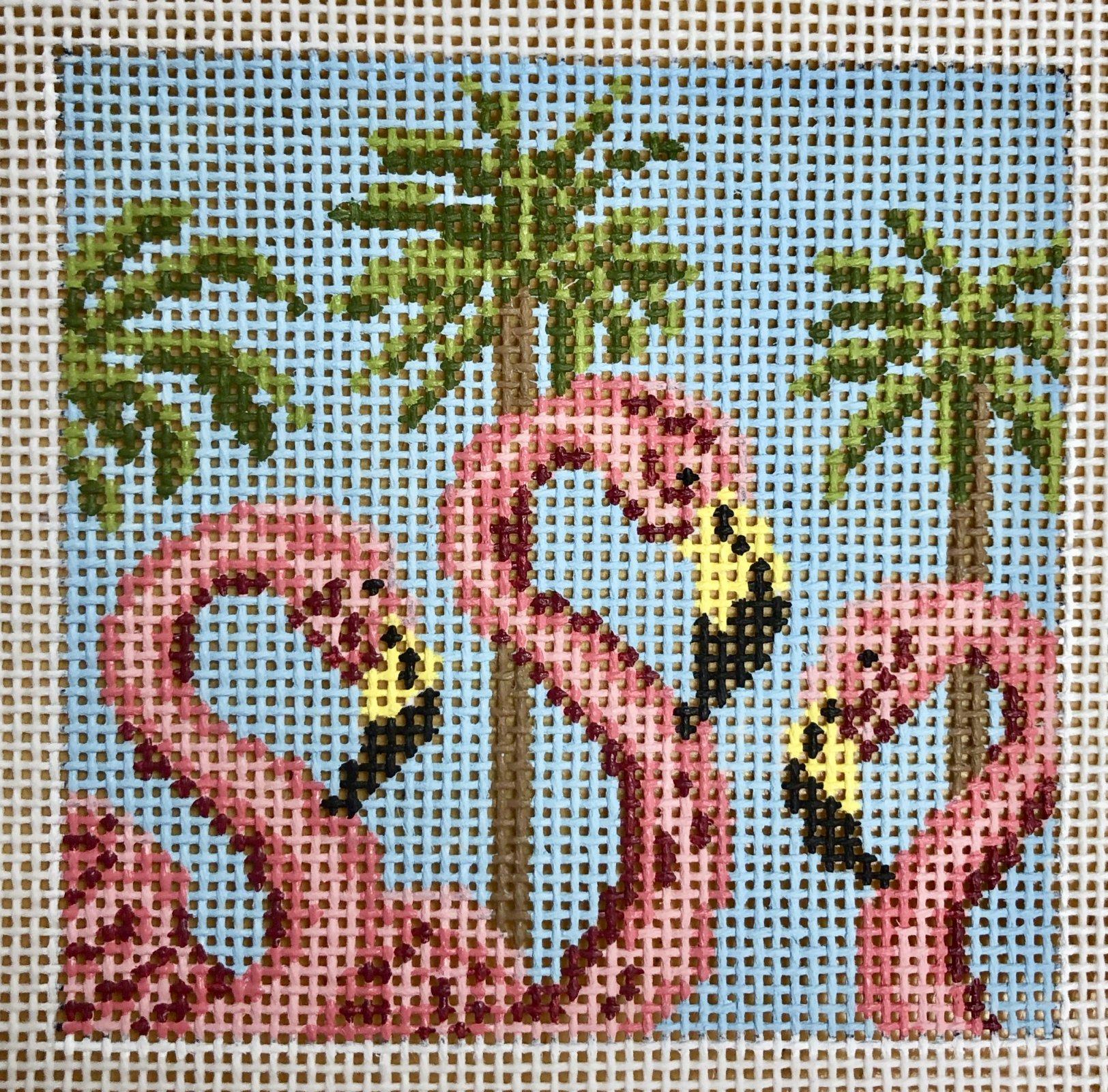 flamingo trio square