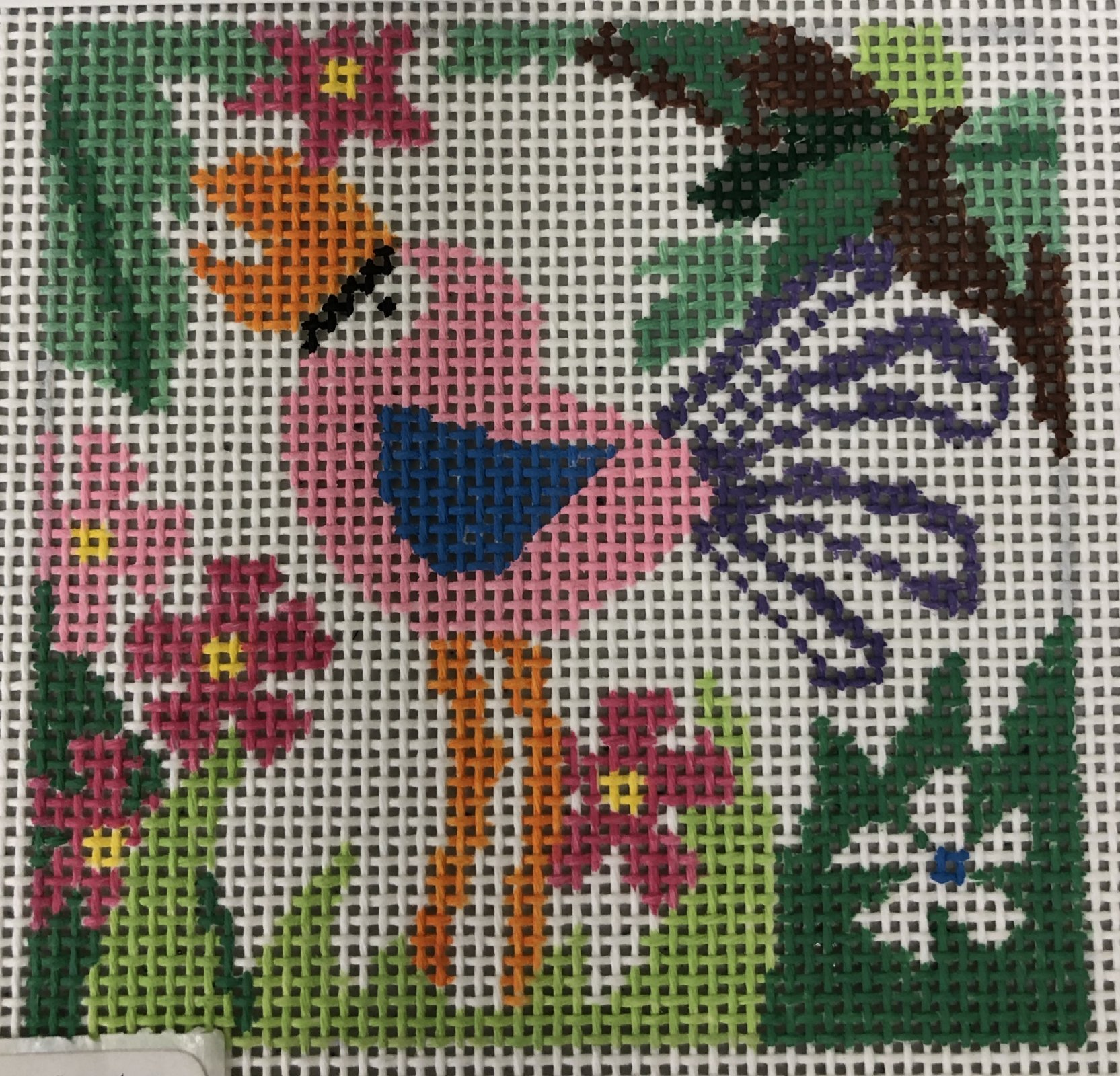 zoo coasters - flamingo*