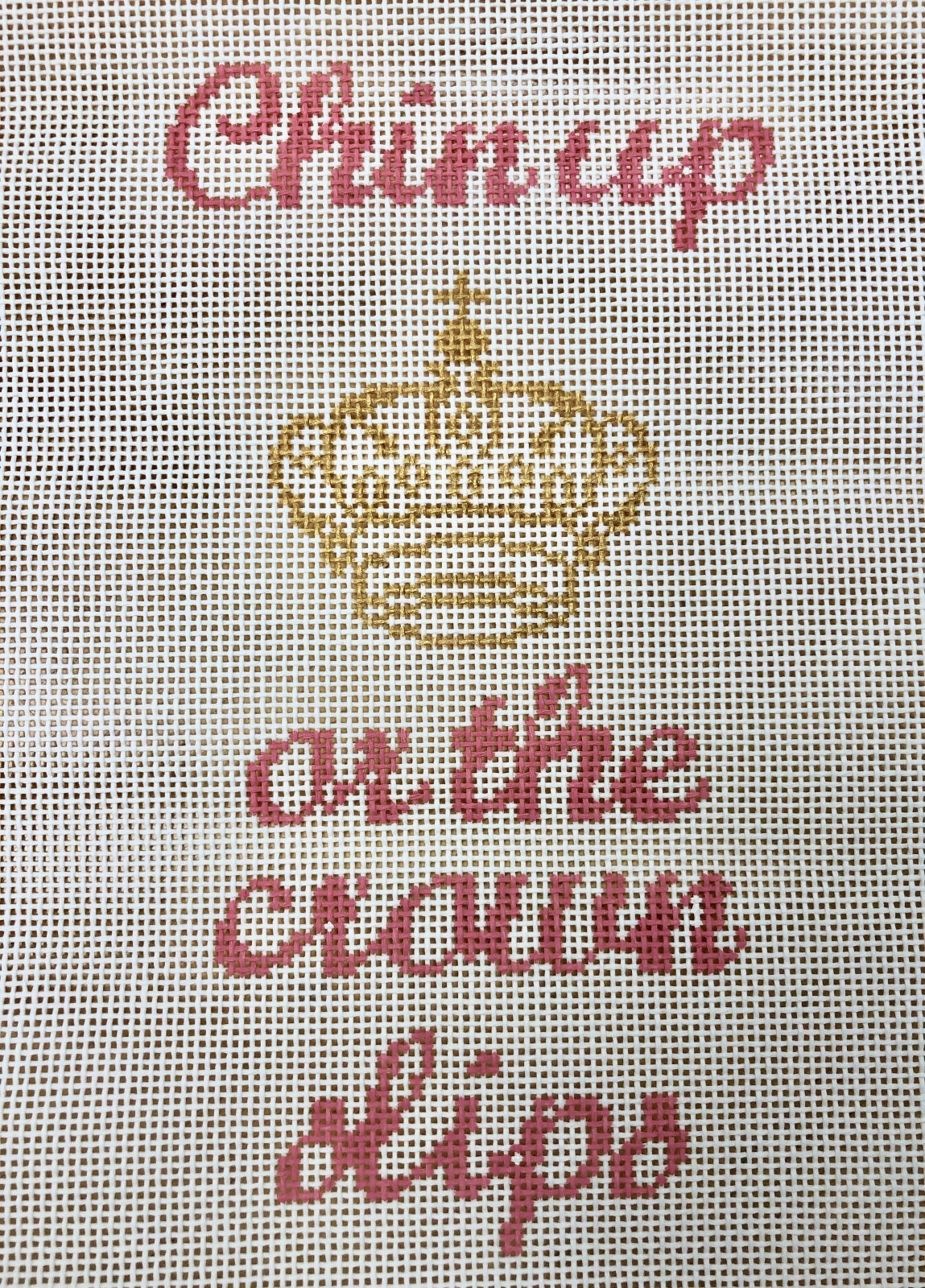 chin up or the crown slips