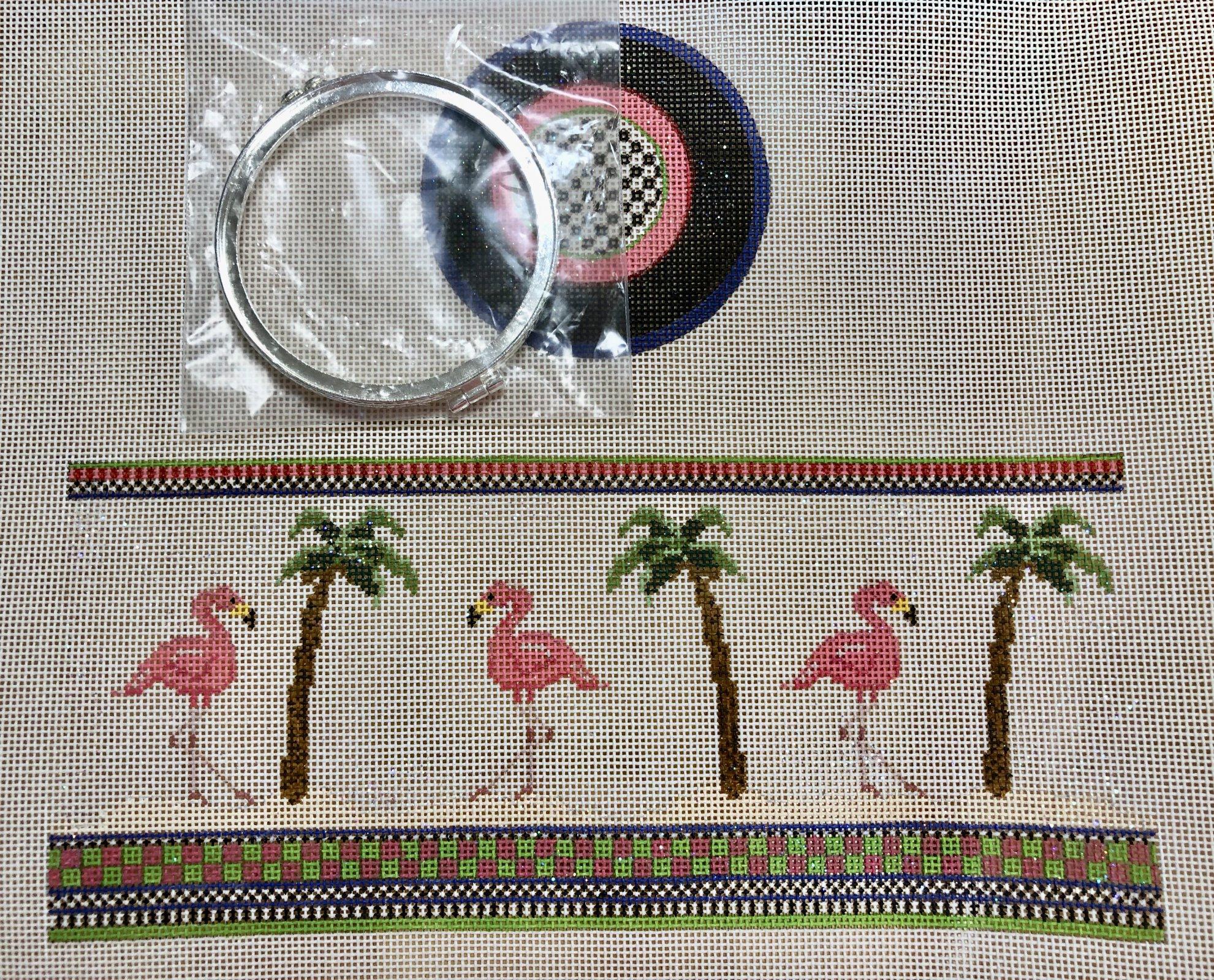 flamingo hinged box