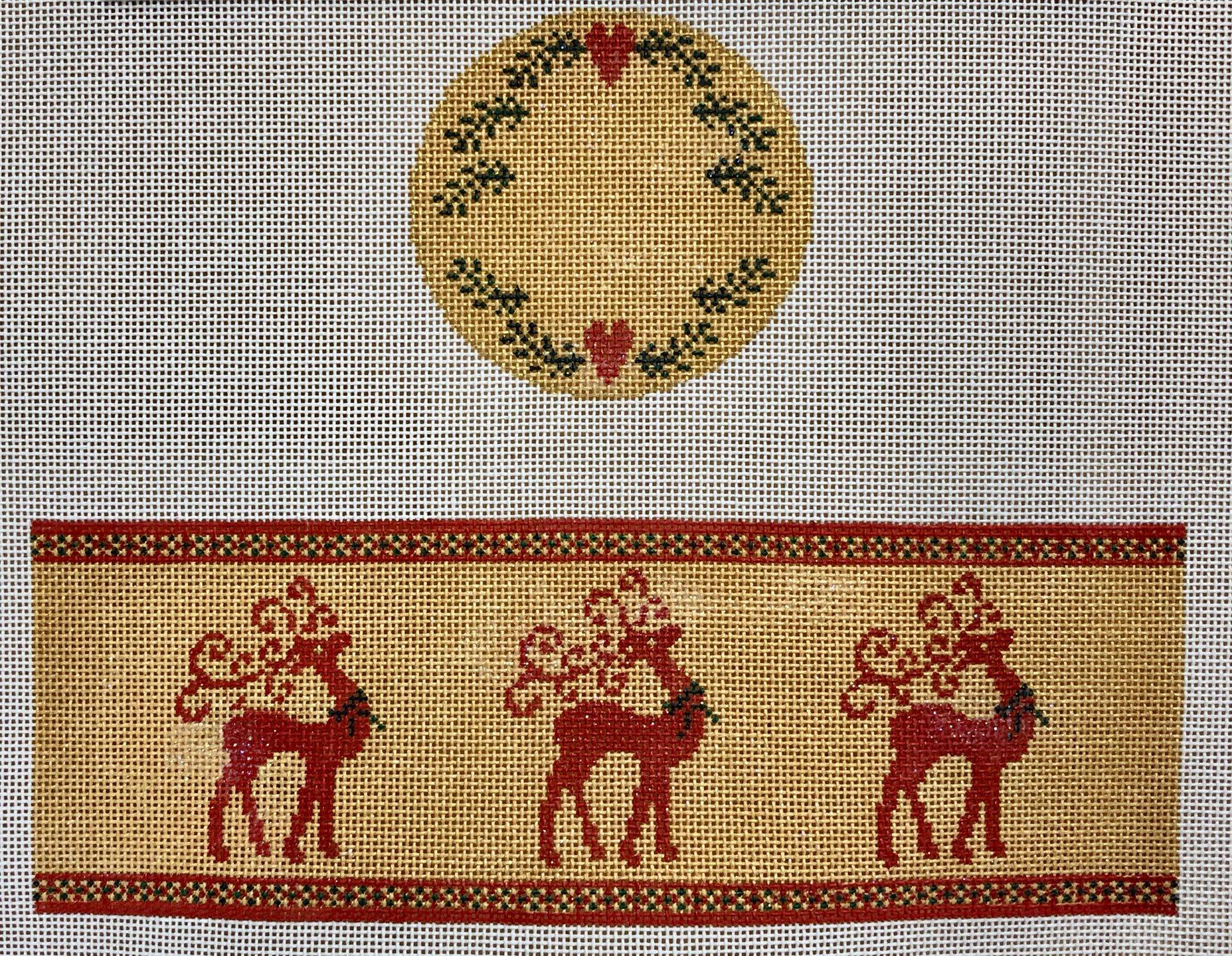 reindeer hinged box