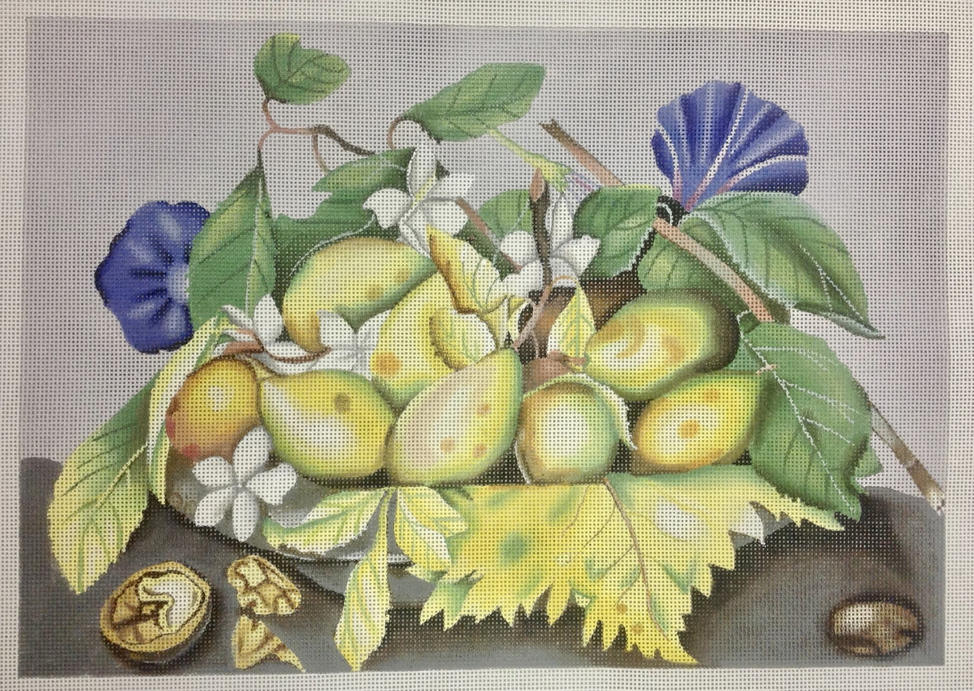 pears & morning glory