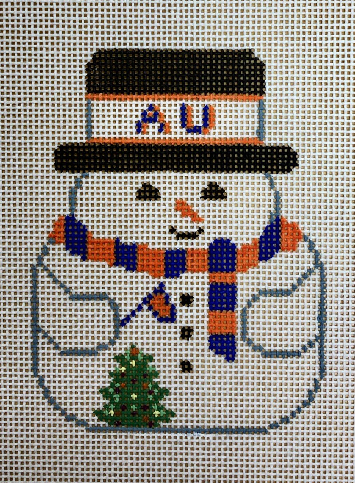 AU snowman ornament